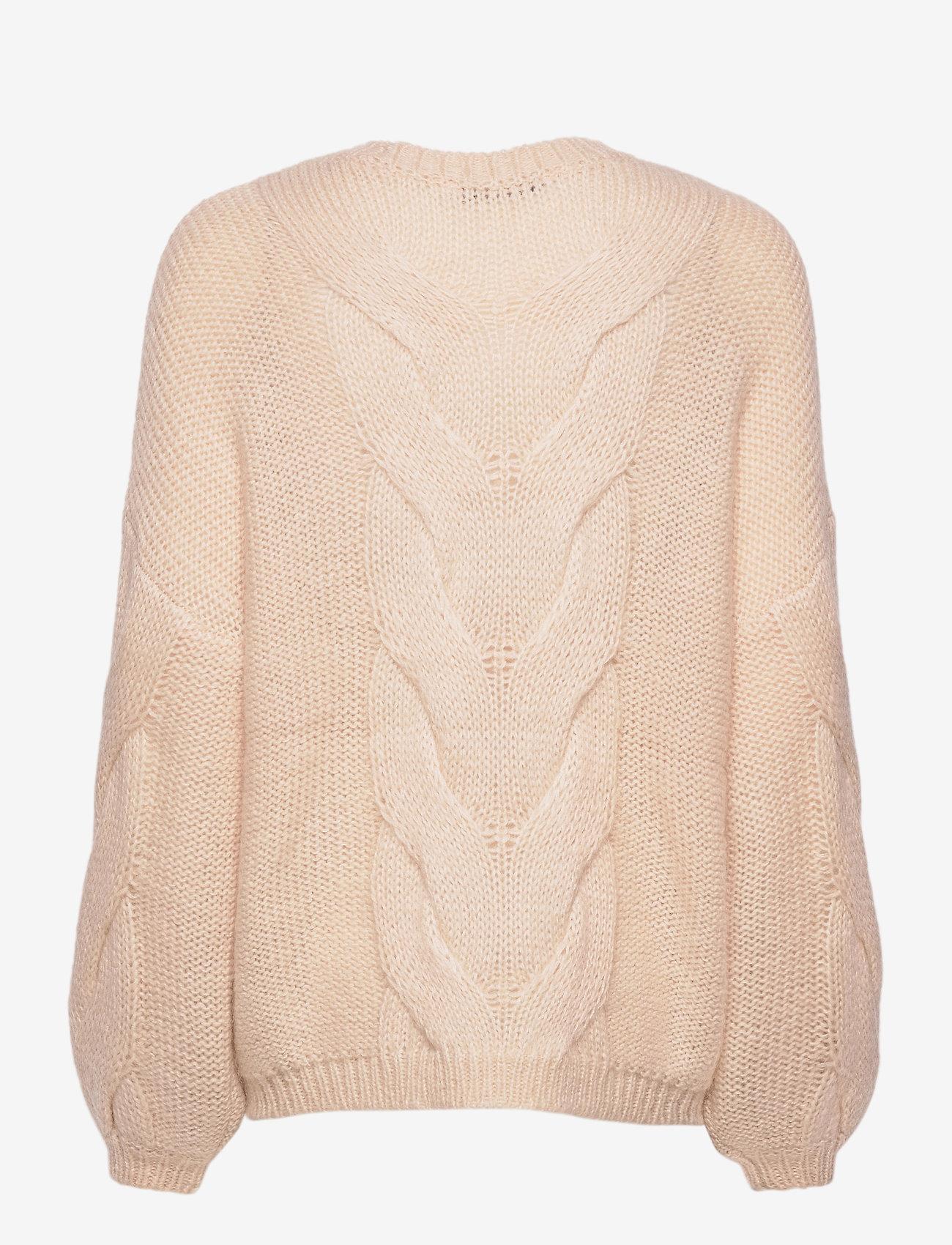 Gestuz - AnuraGZ pullover MA 2020 - trøjer - pumice stone - 1