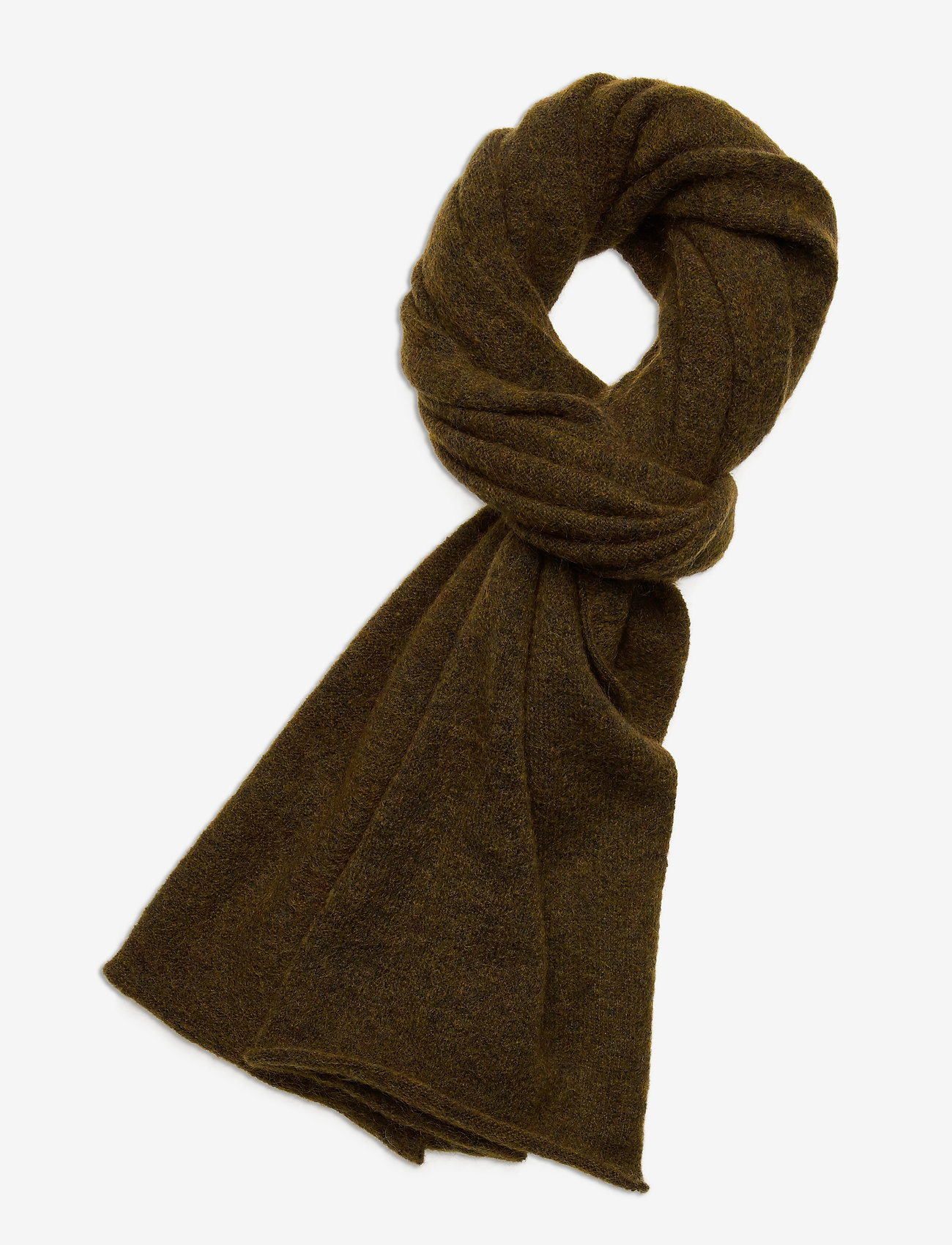 Gestuz - DebbieGZ scarf MA20 - tørklæder - dark olive - 0