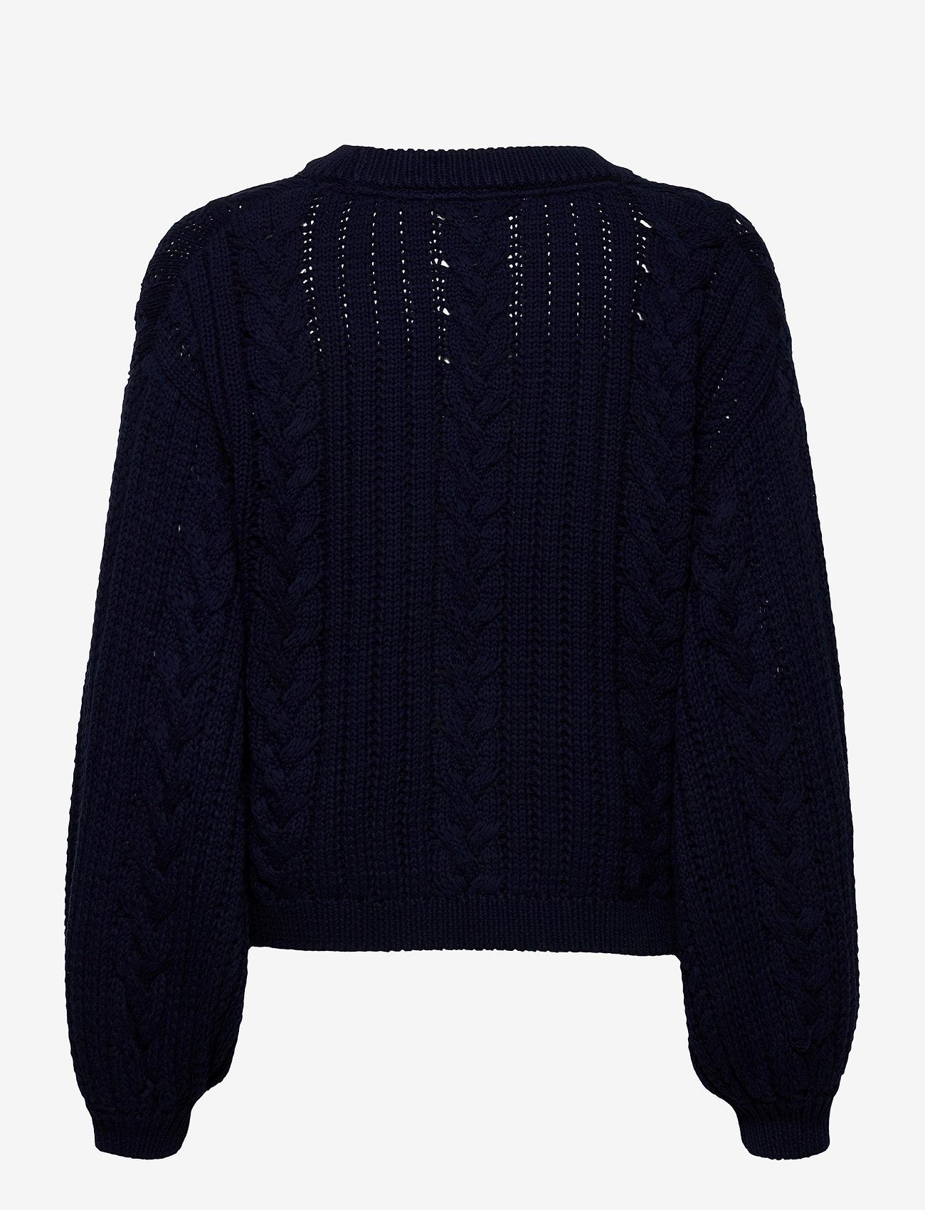 Gestuz - EloisGZ pullover MA20 - trøjer - peacoat - 1