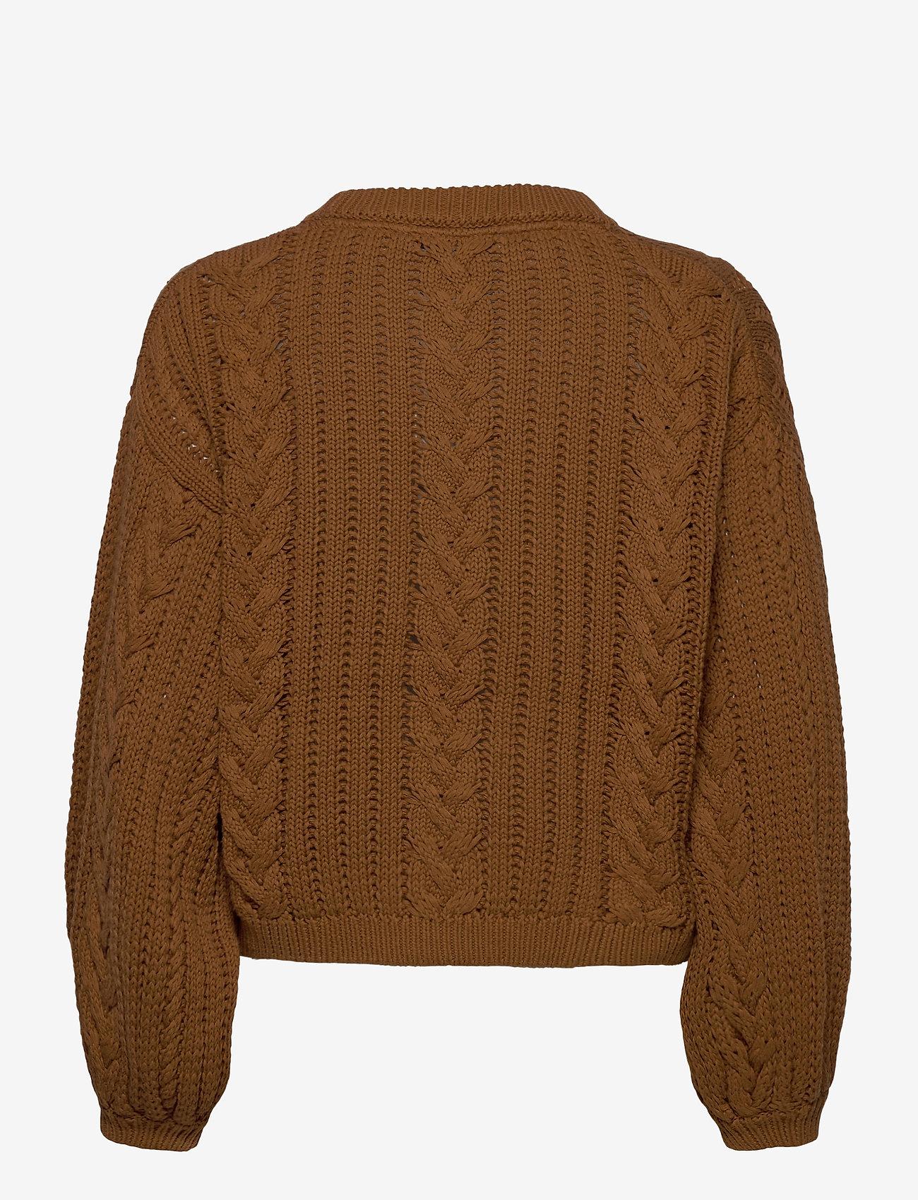 Gestuz - EloisGZ pullover MA20 - trøjer - rubber - 1
