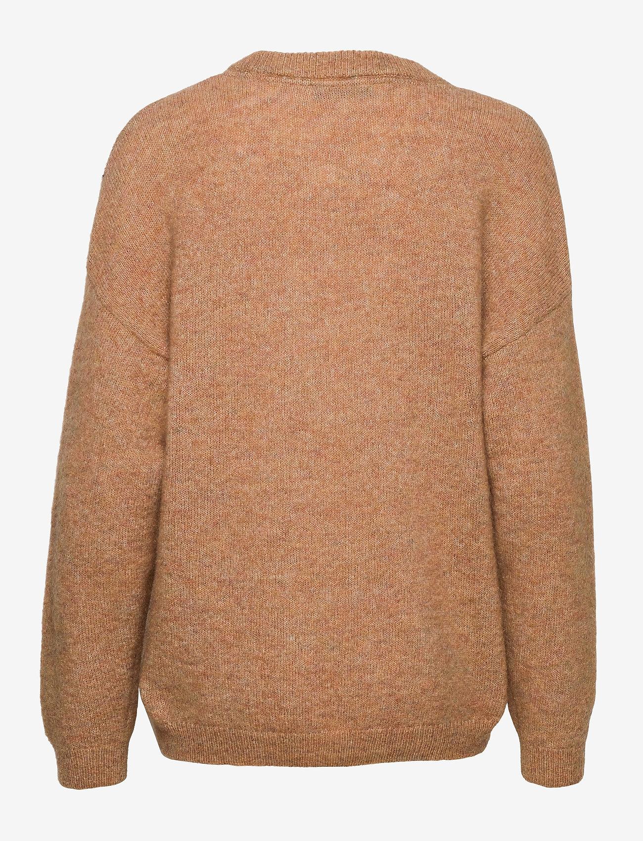 Gestuz - DebbieGZ pullover - trøjer - tannin - 1
