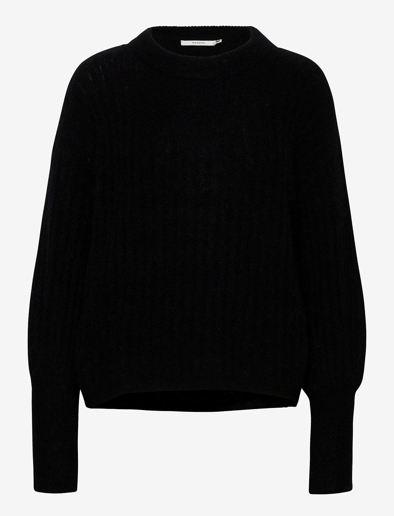 Gestuz - AlpiaGZ pullover NOOS - trøjer - black - 1