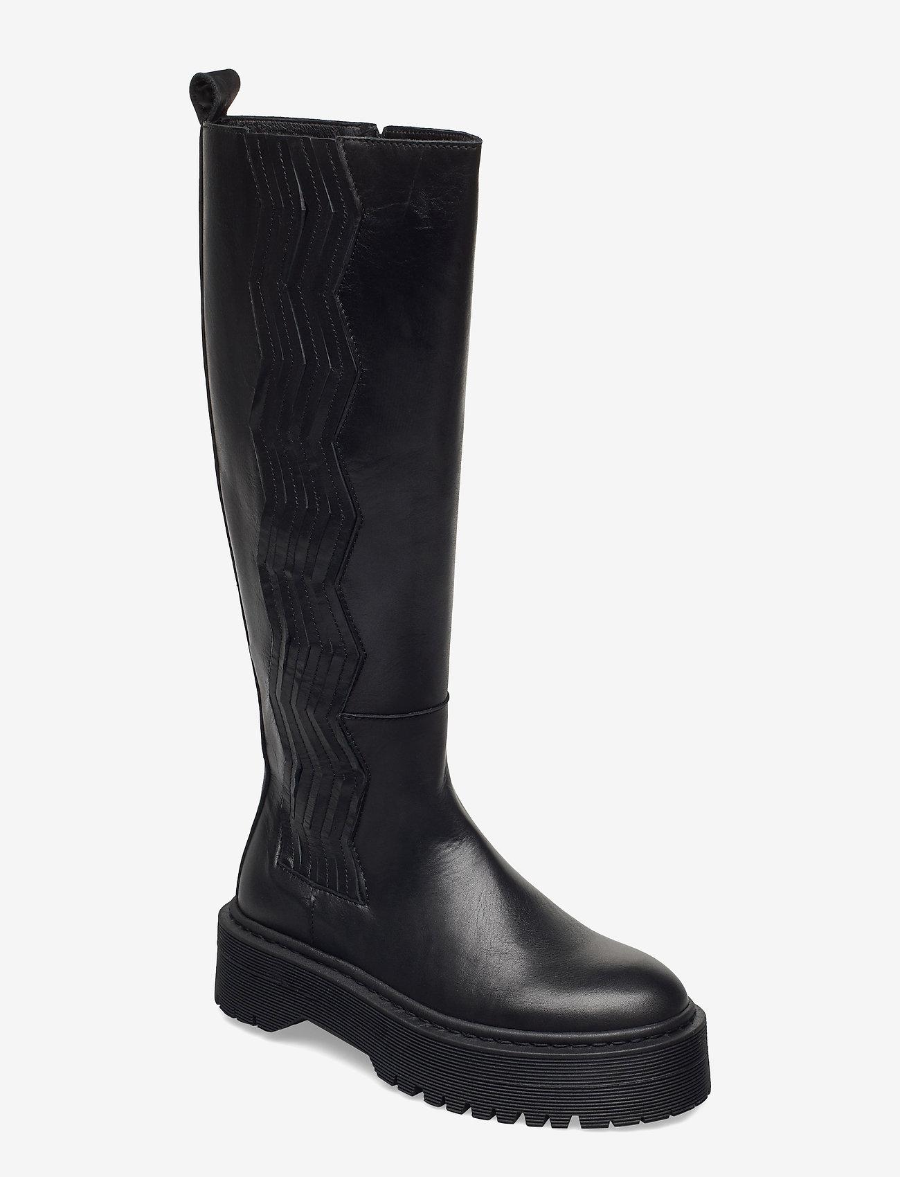 Gestuz - MarleeGZ long boots - lange laarzen - black - 1