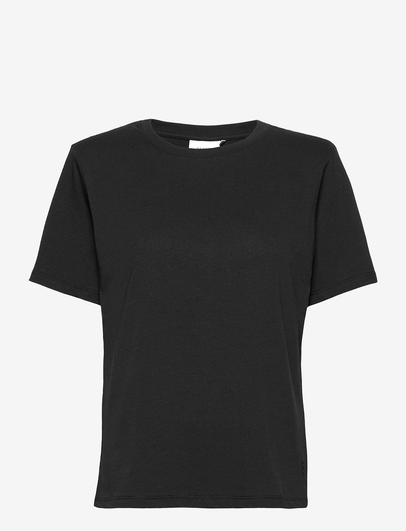 Gestuz - JoryGZ tee - t-shirts - black - 1