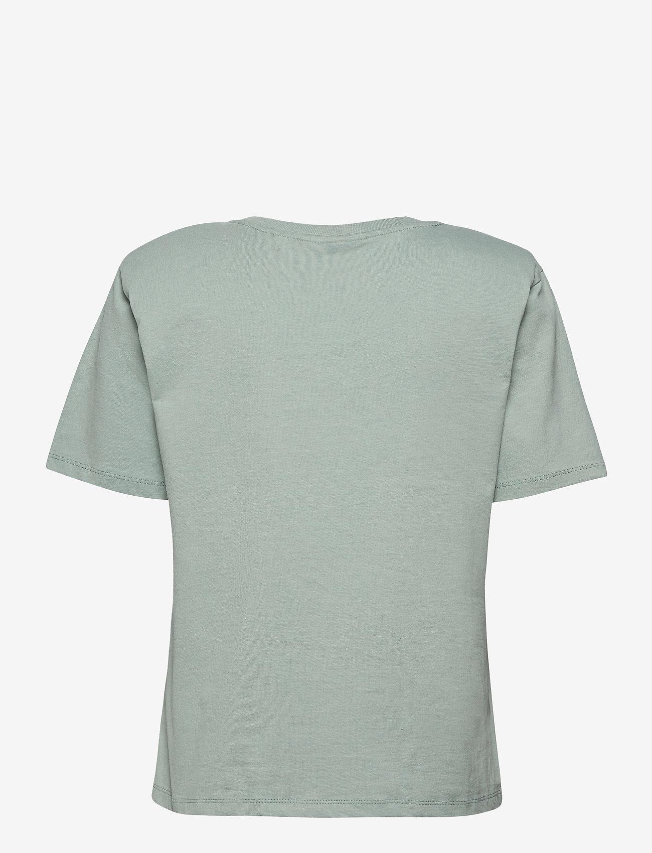 Gestuz - JoryGZ tee - t-shirts - slate gray - 2