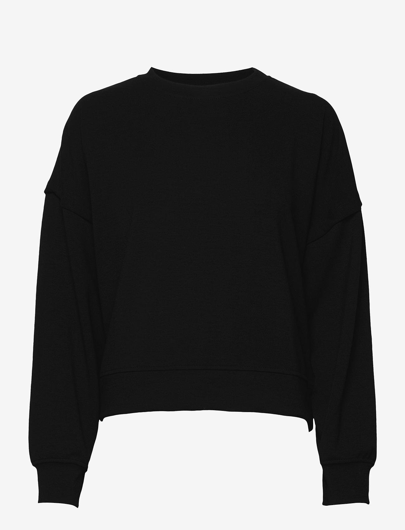 Gestuz - ChrisdaGZ sweatshirt - sweatshirts - black - 0