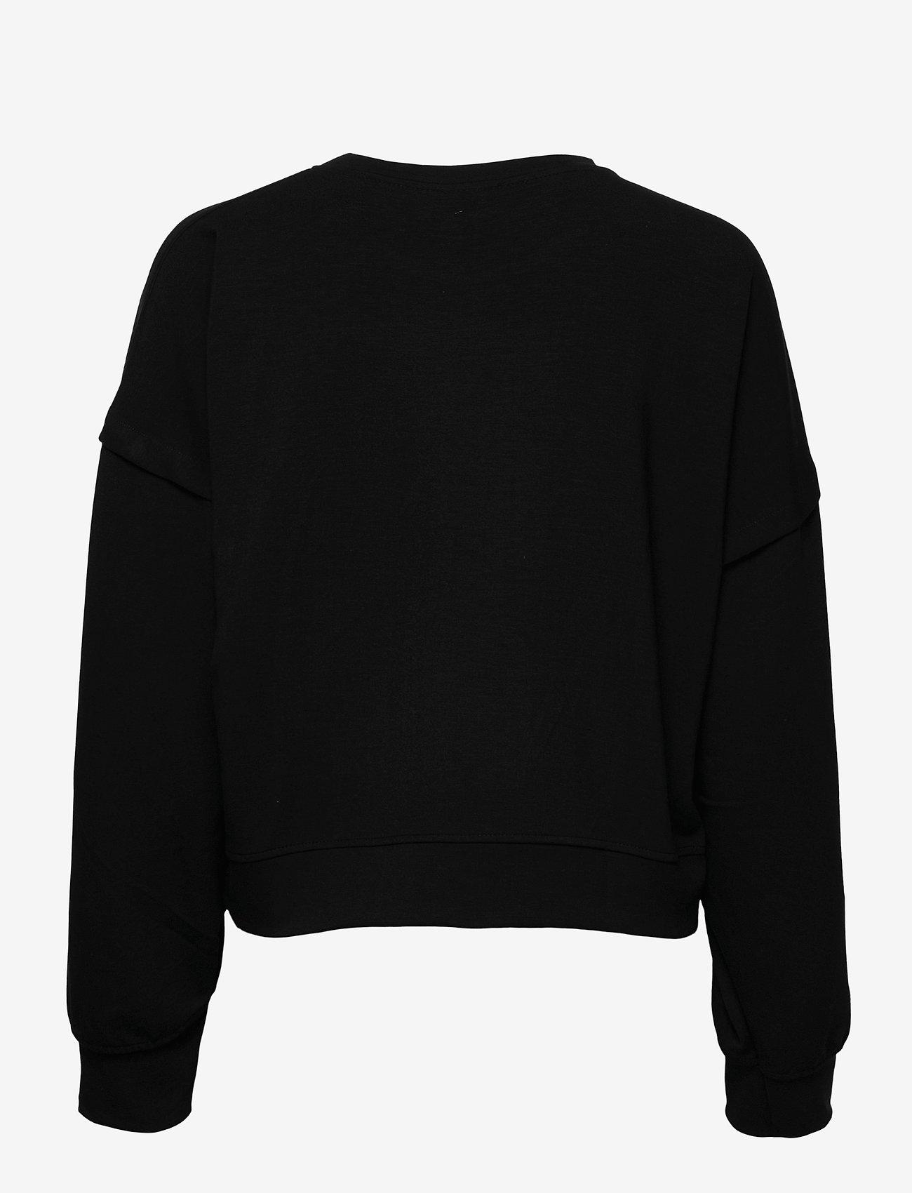 Gestuz - ChrisdaGZ sweatshirt - sweatshirts - black - 1