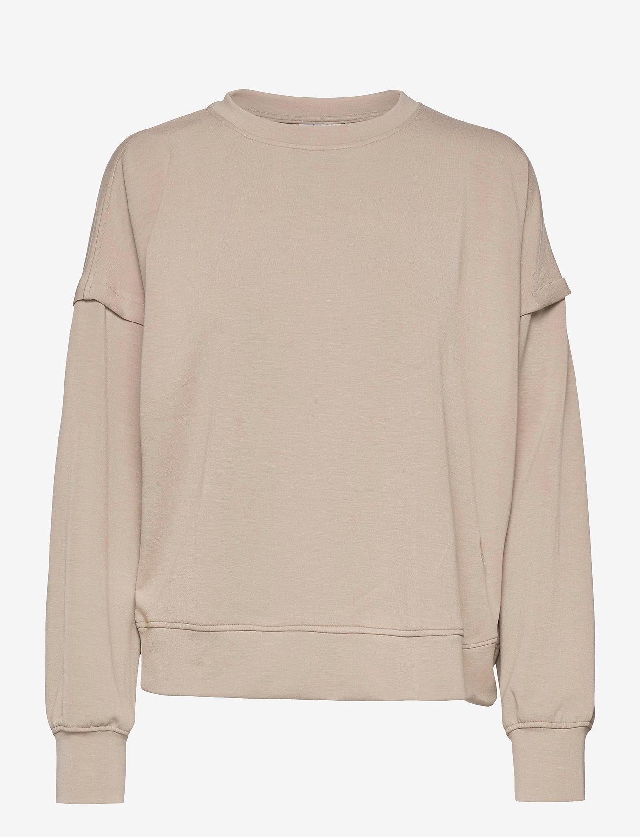 Gestuz - ChrisdaGZ sweatshirt - sweatshirts - pure cashmere - 1