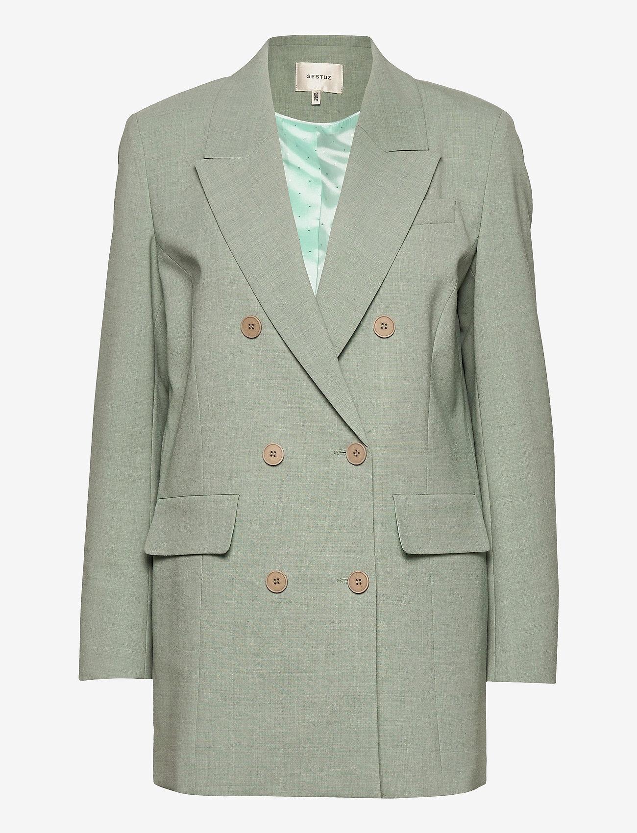 Gestuz - AmaliGZ blazer MS21 - oversized blazere - slate gray - 1