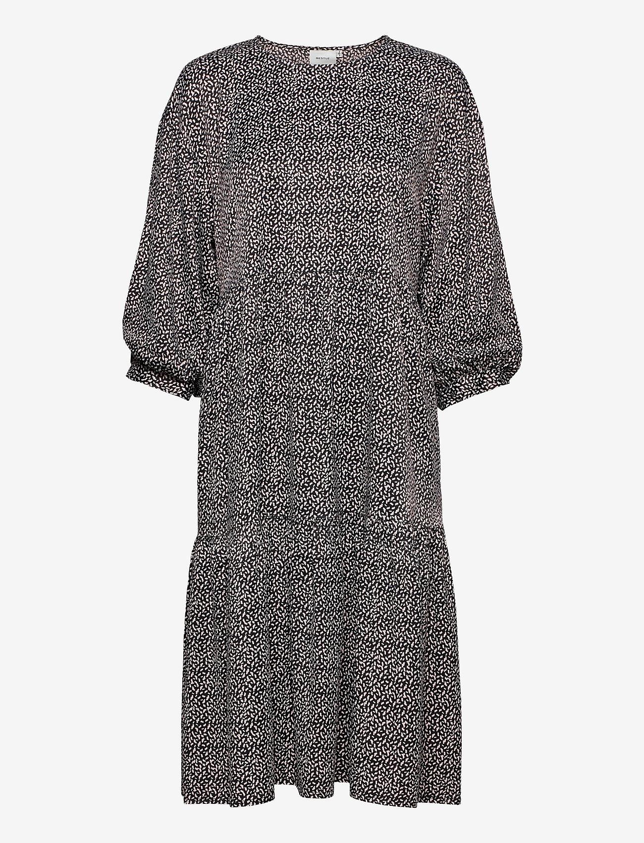 Gestuz - IlaGZ dress MS21 - hverdagskjoler - moonbeam square dot - 1