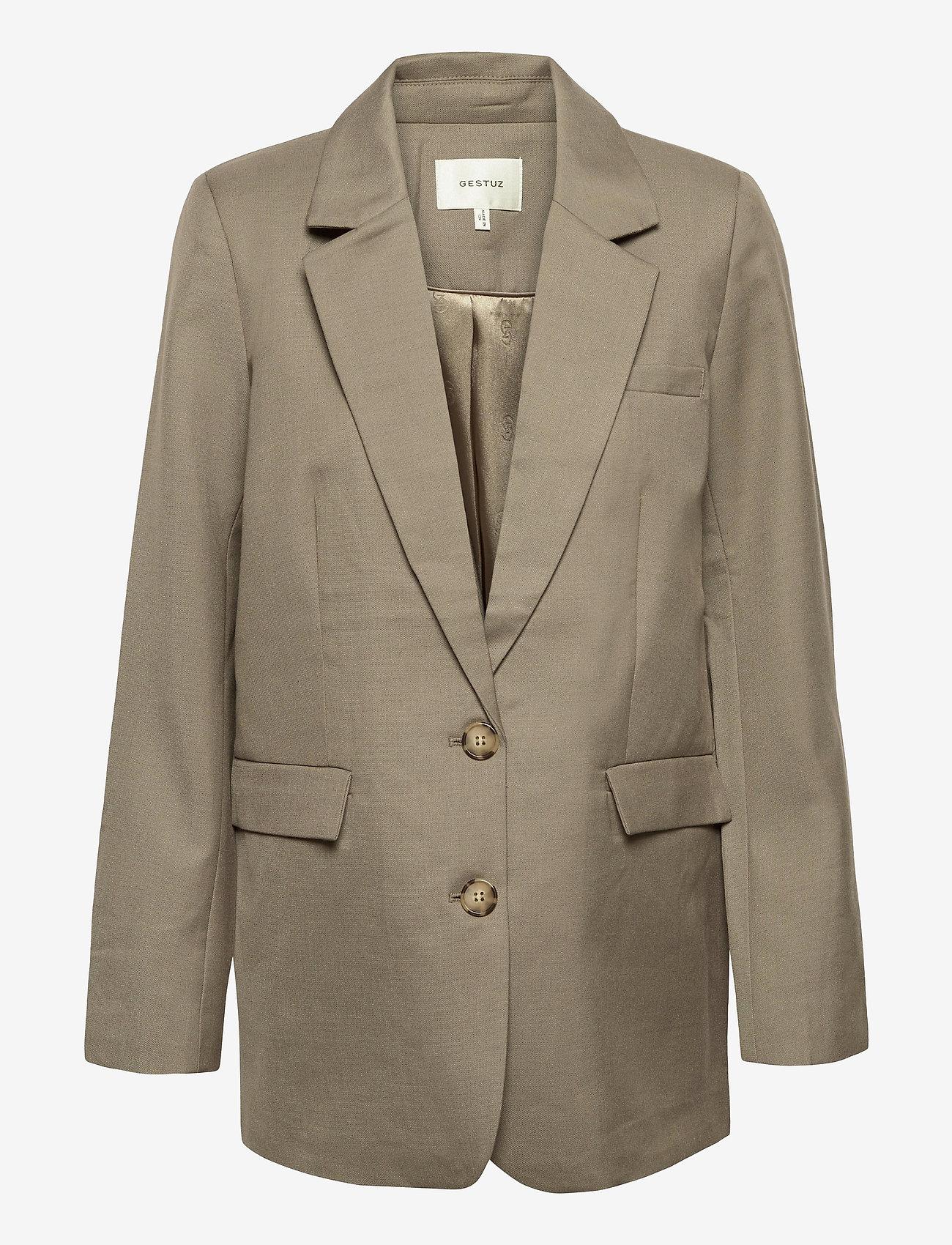 Gestuz - LeejaGZ blazer MS21 - oversized blazere - brindle - 1