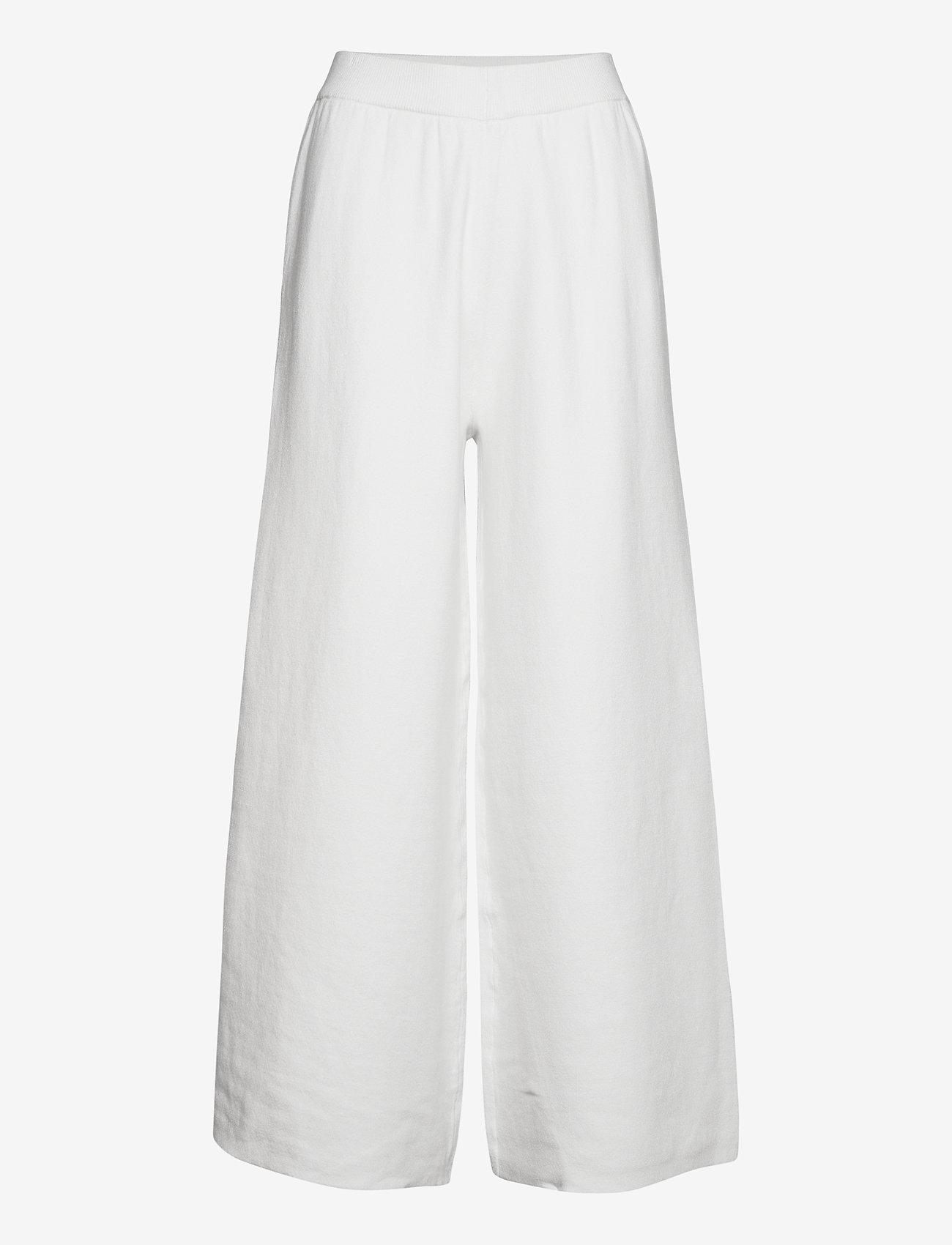 Gestuz - TalliGZ MW culotte - bukser med brede ben - egret - 1