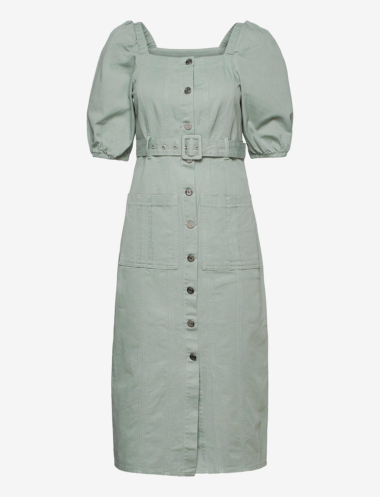 Gestuz - BellioGZ dress - sommerkjoler - slate gray - 1