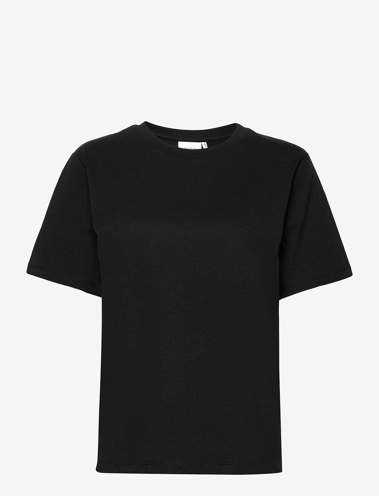 Gestuz - RoxieGZ ss tee NOOS - t-shirts - black - 1