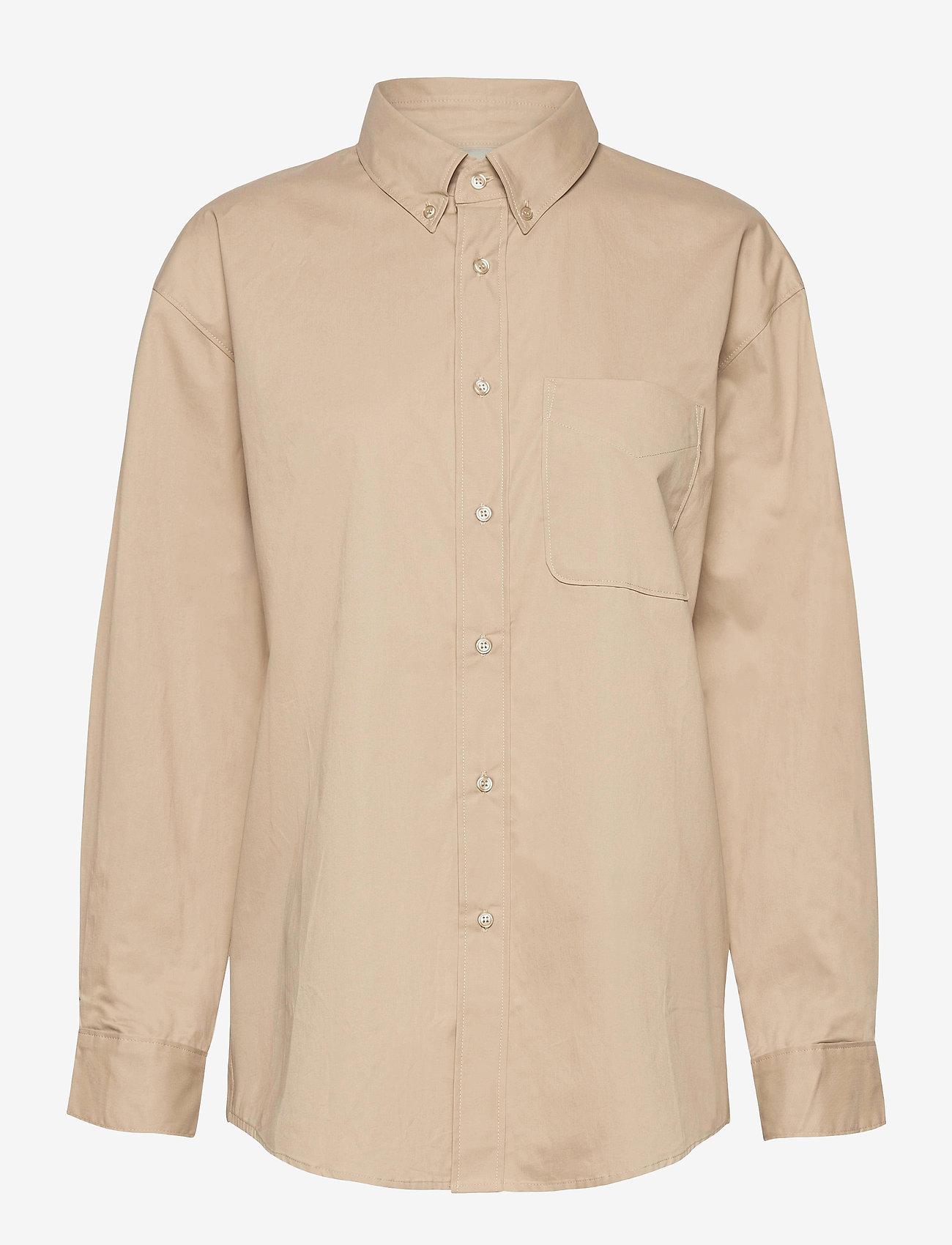 Gestuz - MeluaGZ OZ shirt - langærmede skjorter - pure cashmere - 1