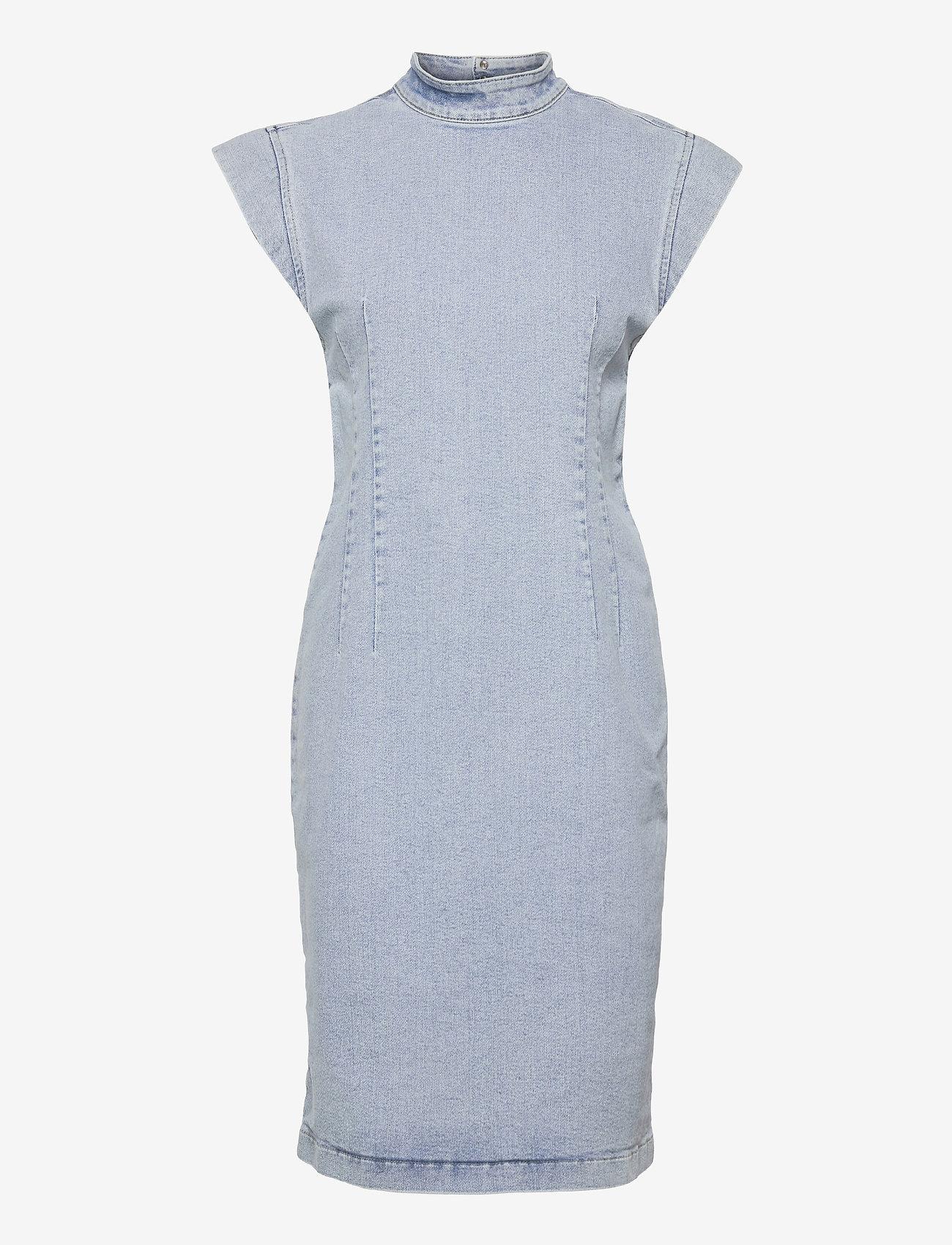 Gestuz - DrewiGZ dress - sommerkjoler - light blue vintage - 1
