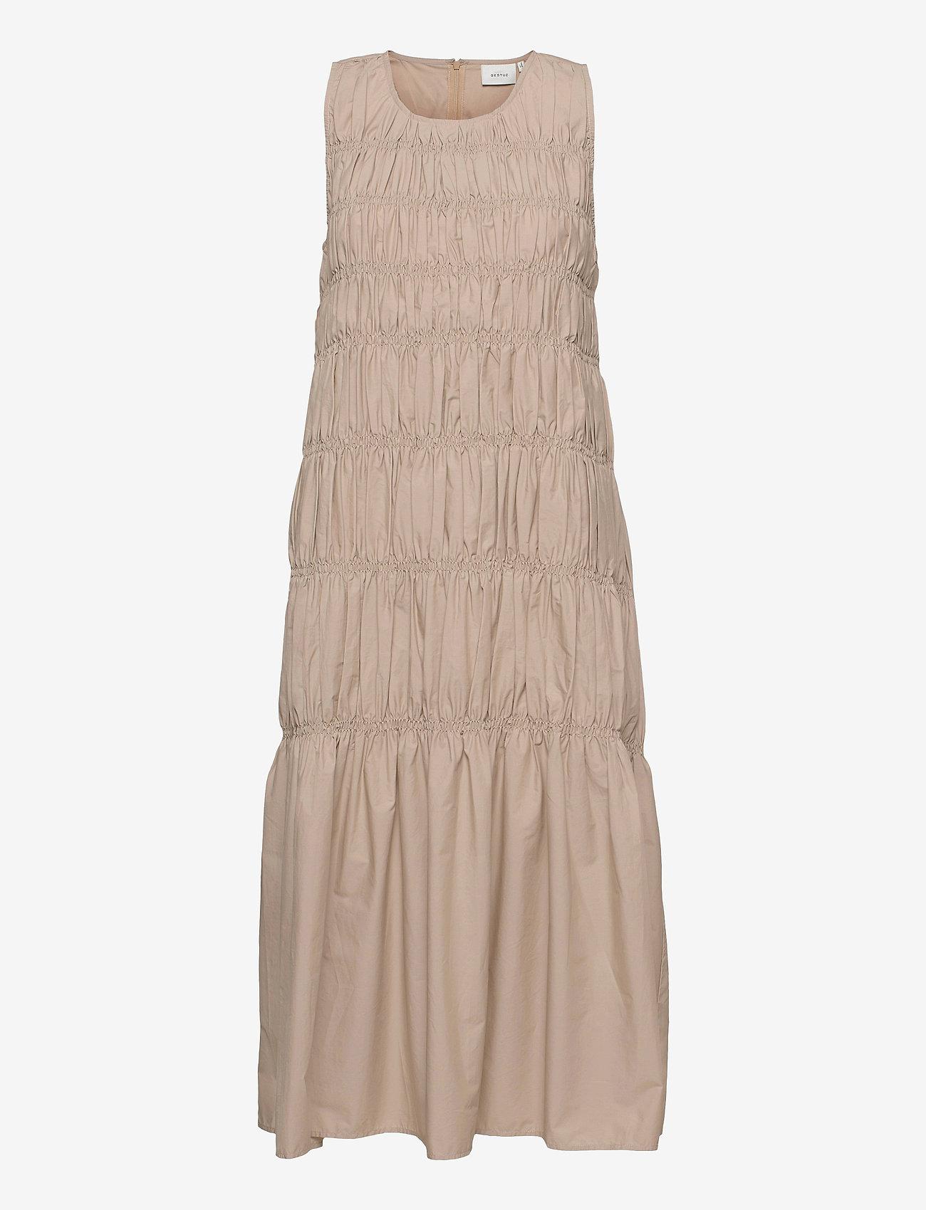 Gestuz - LenaGZ long dress - sommerkjoler - pure cashmere - 0