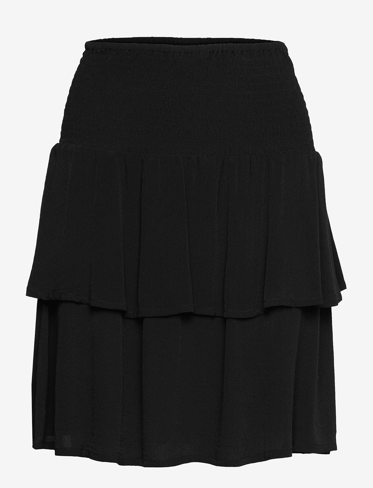 Gestuz - LifGZ skirt - midi nederdele - black - 1