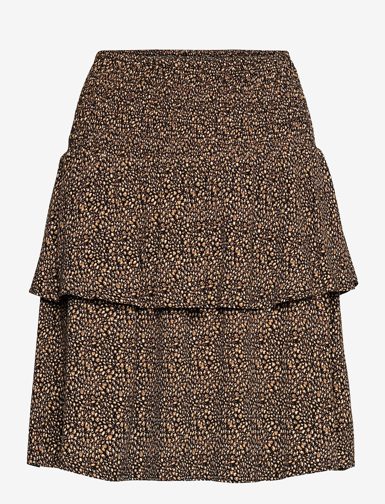 Gestuz - LifGZ skirt - midi nederdele - brown mini leo - 1