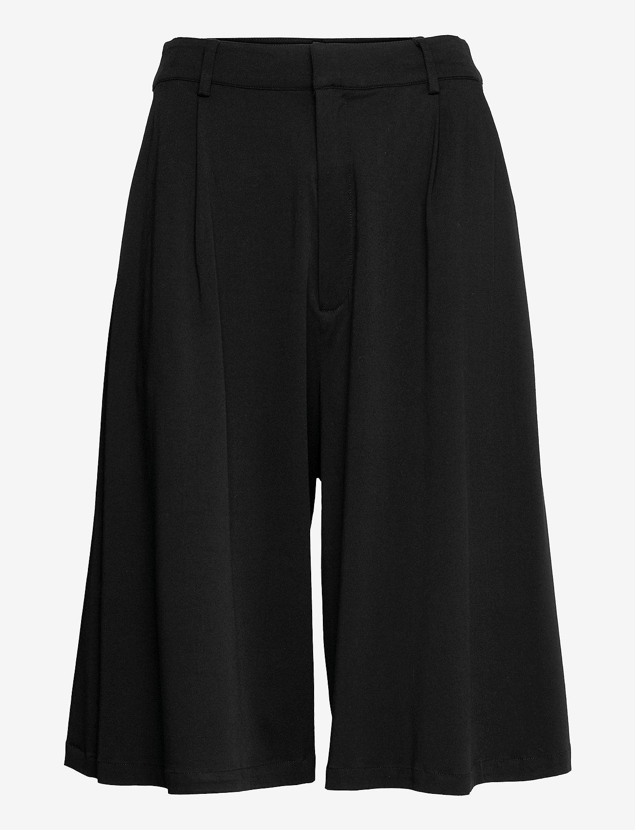Gestuz - BertaGZ HW shorts - bermudashorts - black - 0