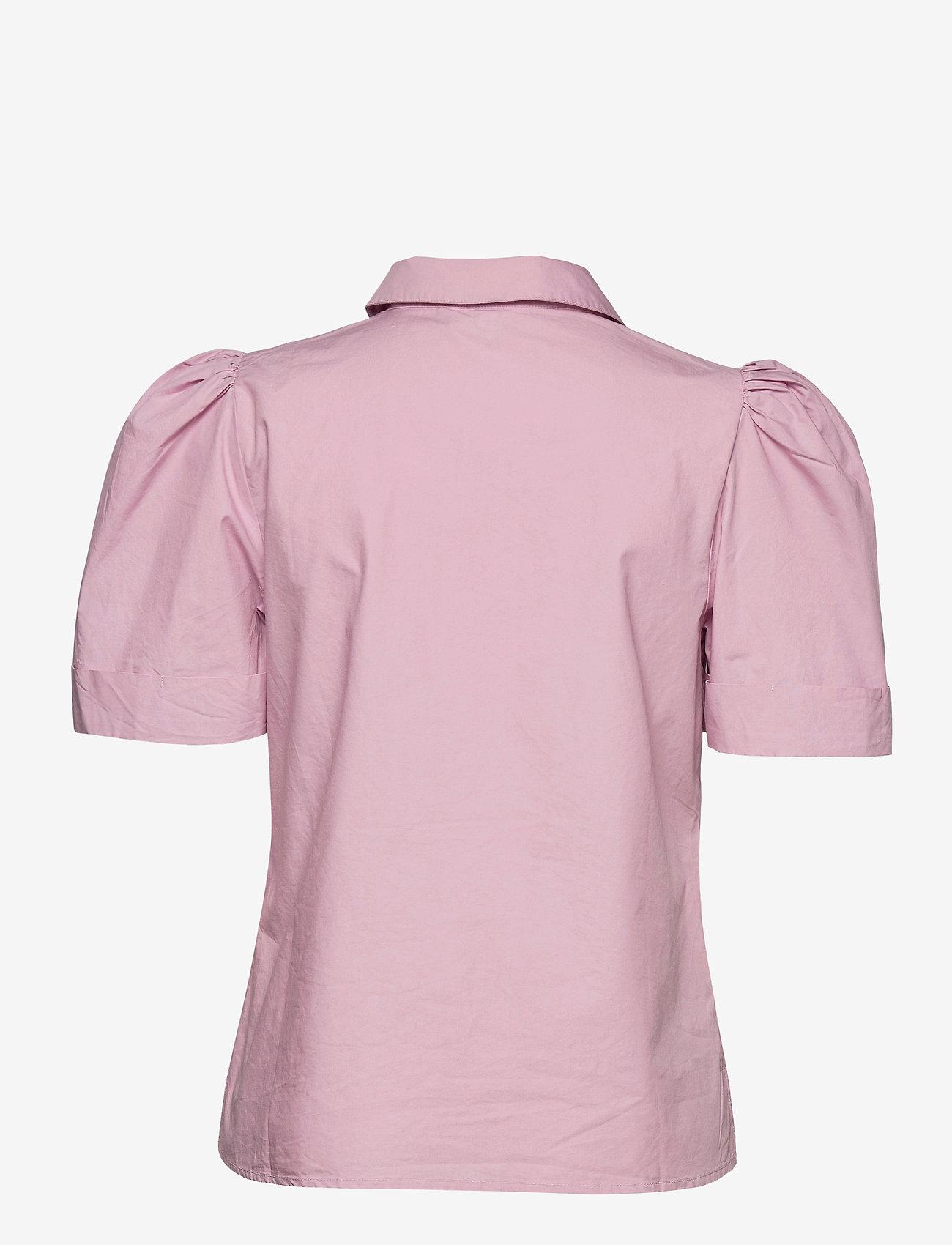 Gestuz - HalioGZ ss shirt - denimskjorter - fragrant lilac - 2