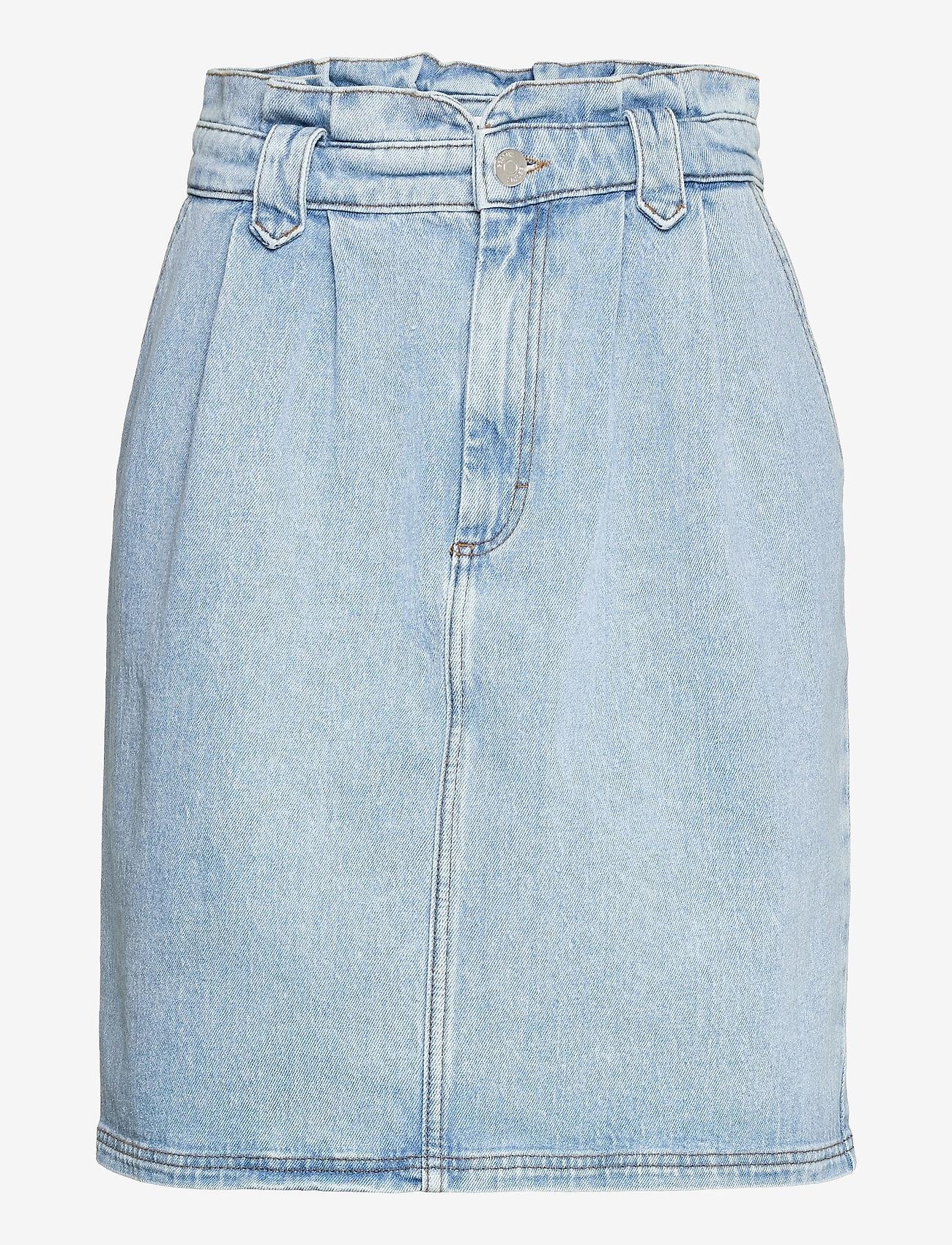 Gestuz - ElmaGZ HW skirt - midi nederdele - light blue - 1