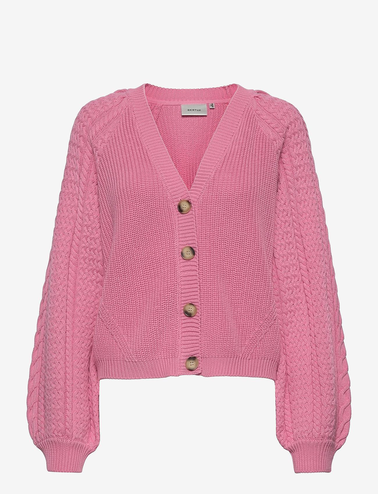 Gestuz - ViolaGZ cardigan - cardigans - cashmere rose - 1