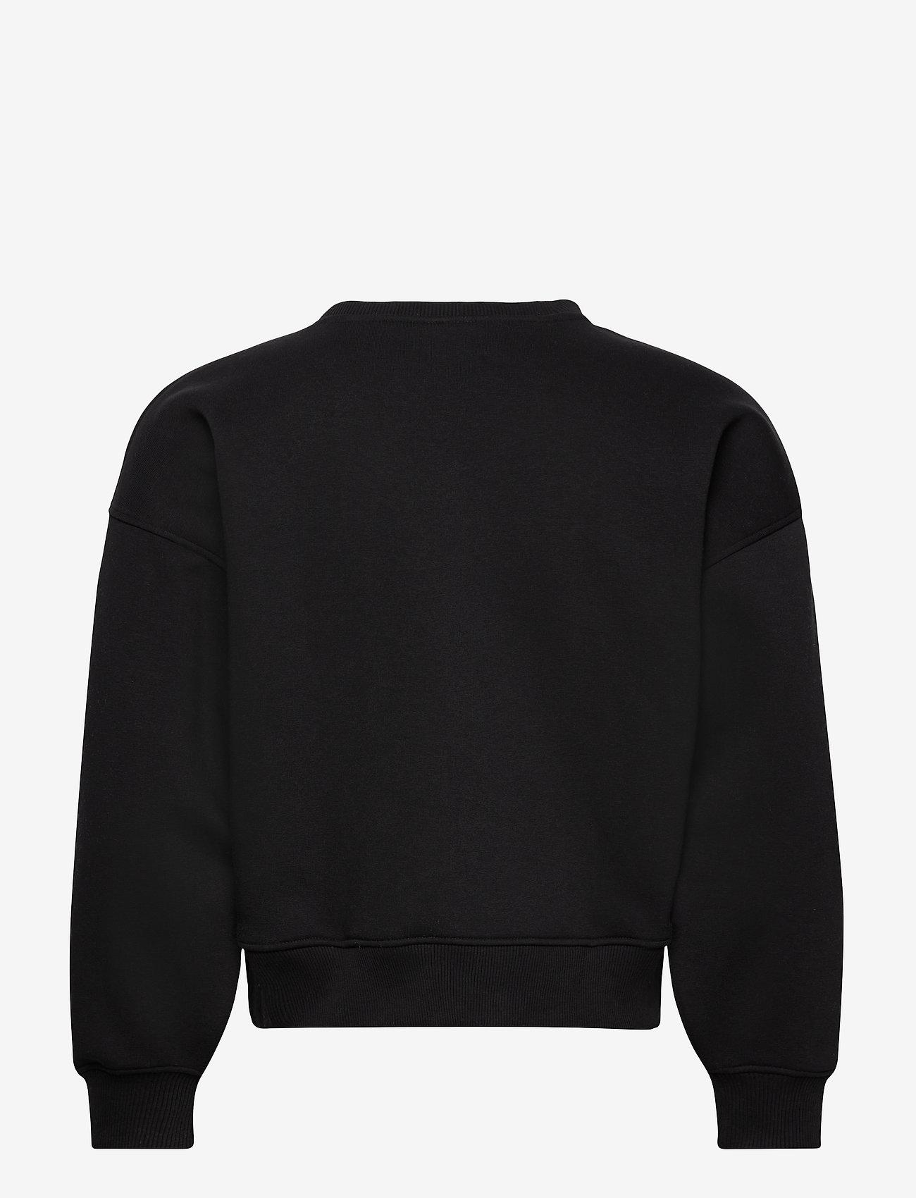 Gestuz - RubiGZ sweatshirt NOOS - sweatshirts & hættetrøjer - black - 1