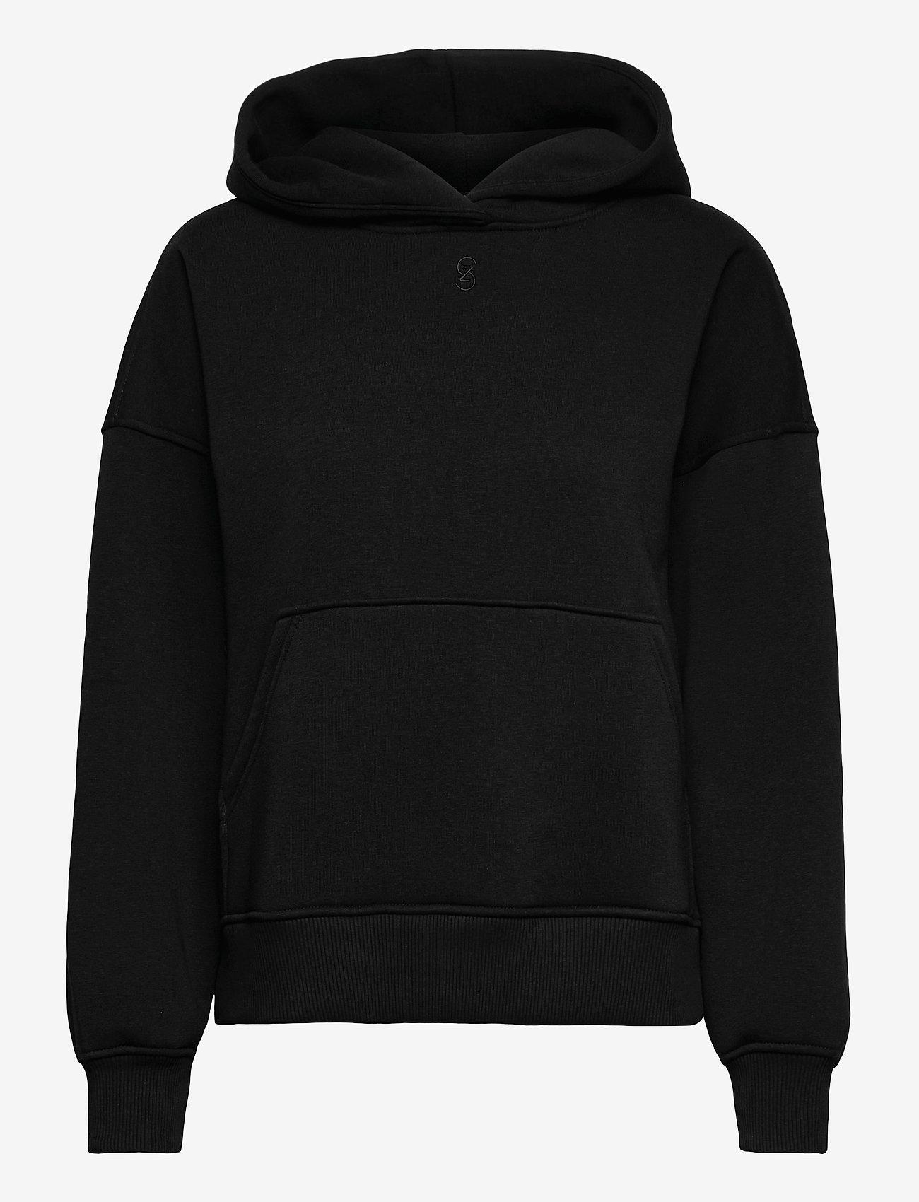 Gestuz - RubiGZ hoodie NOOS - sweatshirts & hættetrøjer - black - 1