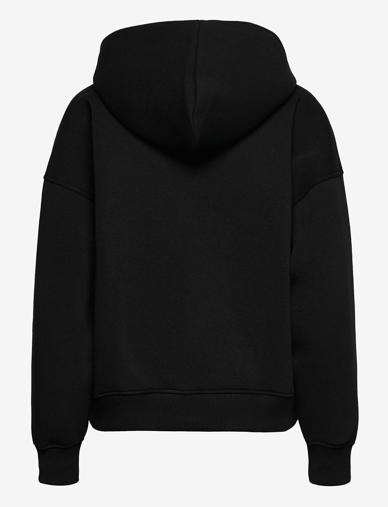 Gestuz - RubiGZ hoodie NOOS - sweatshirts & hættetrøjer - black - 2