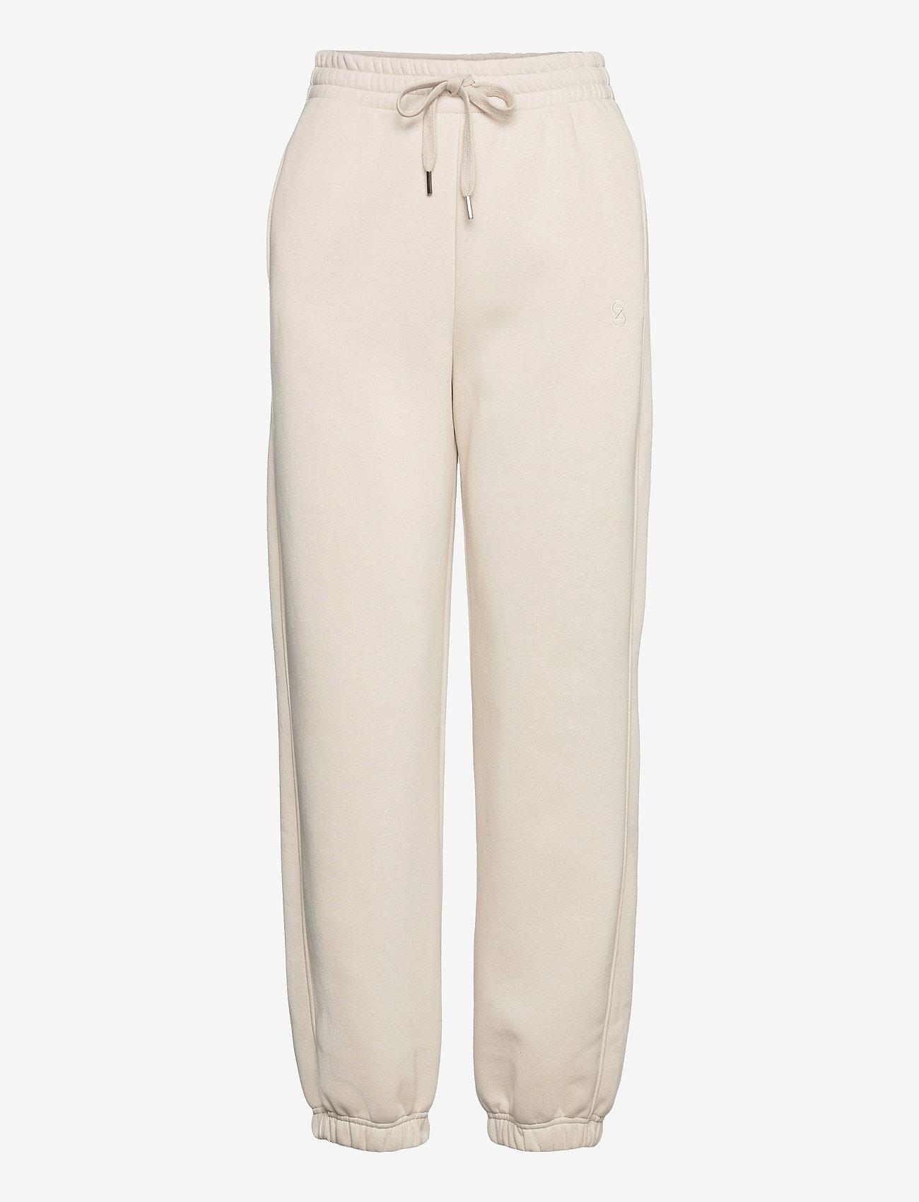 Gestuz - RubiGZ HW pants - tøj - moonbeam - 1