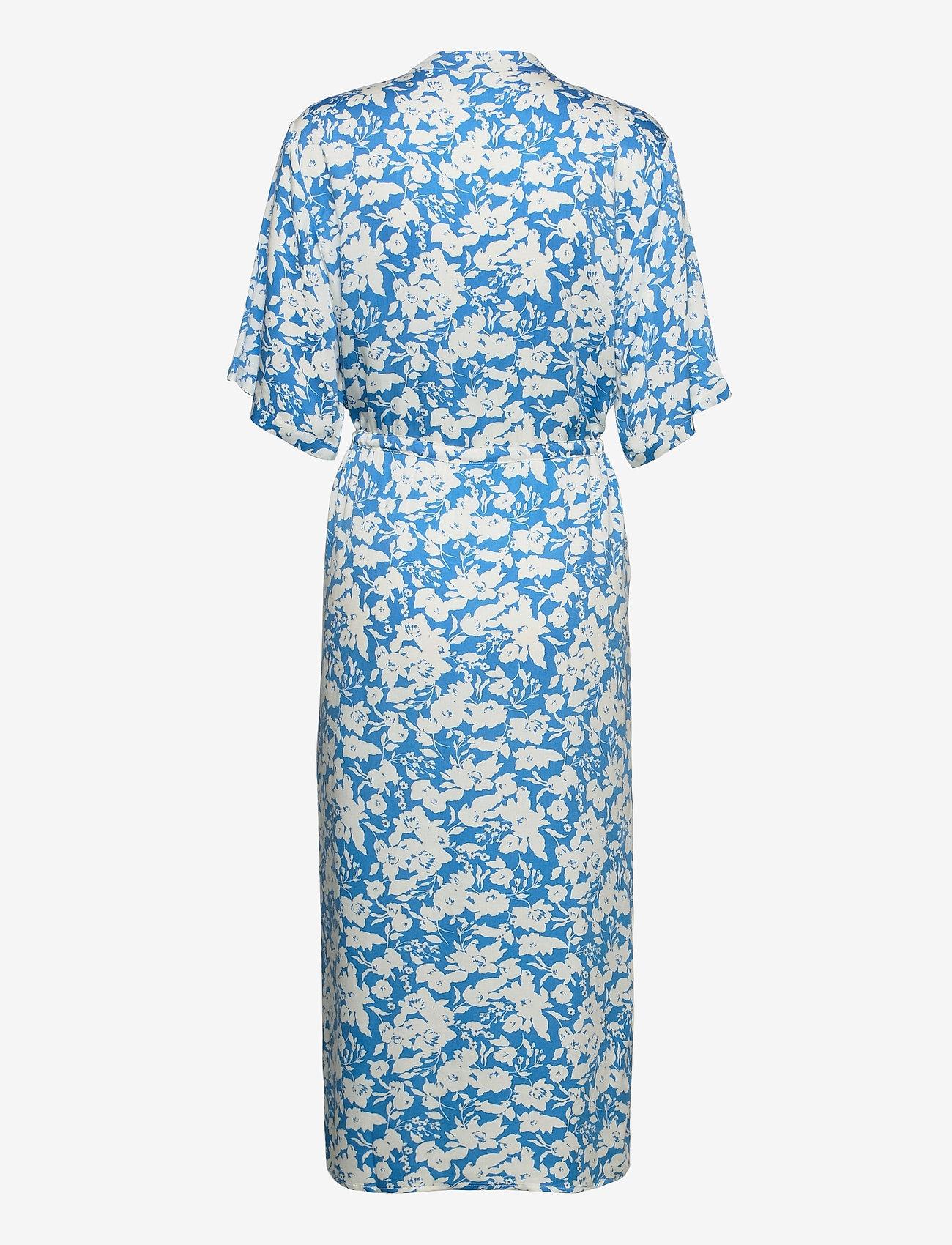 Gestuz - LaiaGZ kimono - kimonoer - mini blue flowe aop - 1