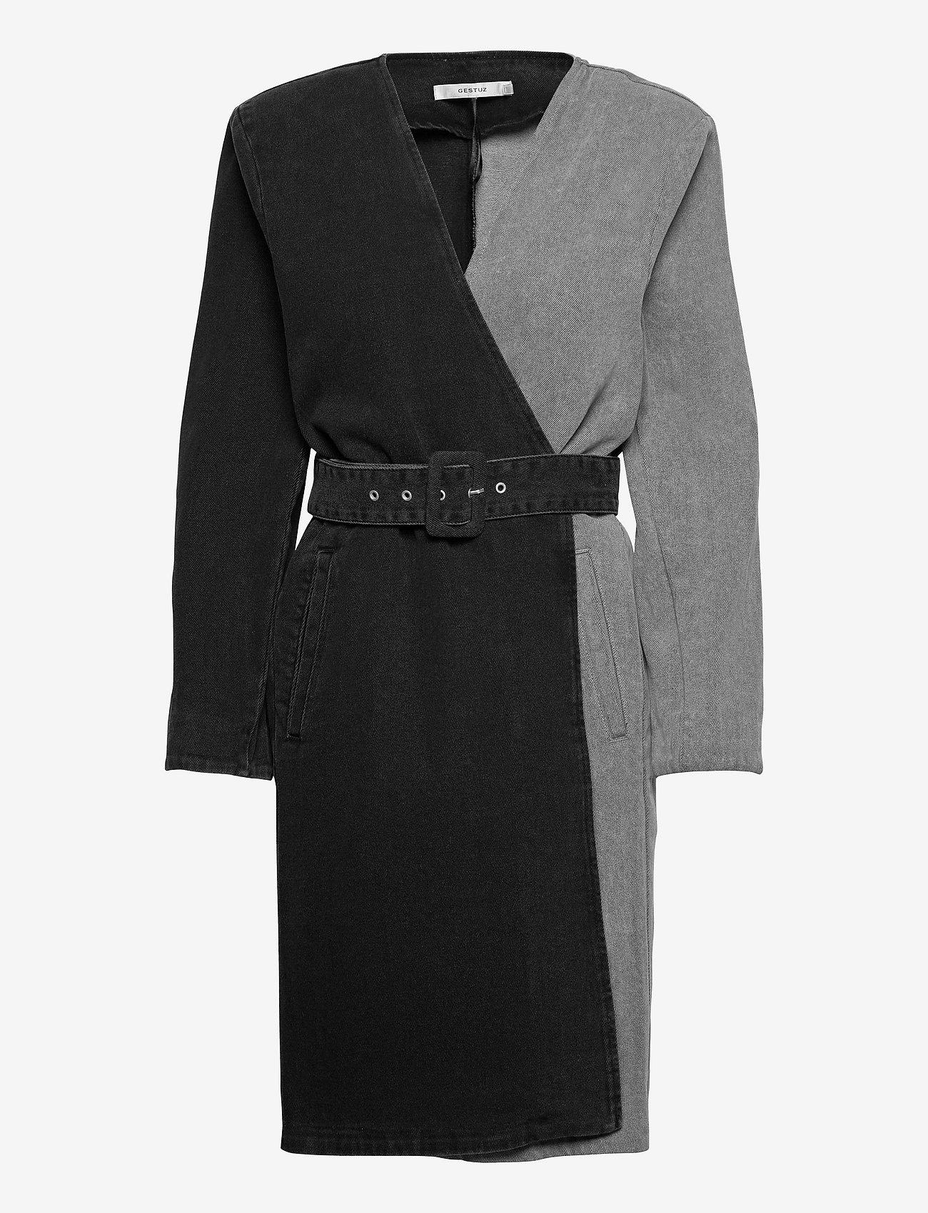 Gestuz - SillaGZ blazer dress - hverdagskjoler - washed grey - 1