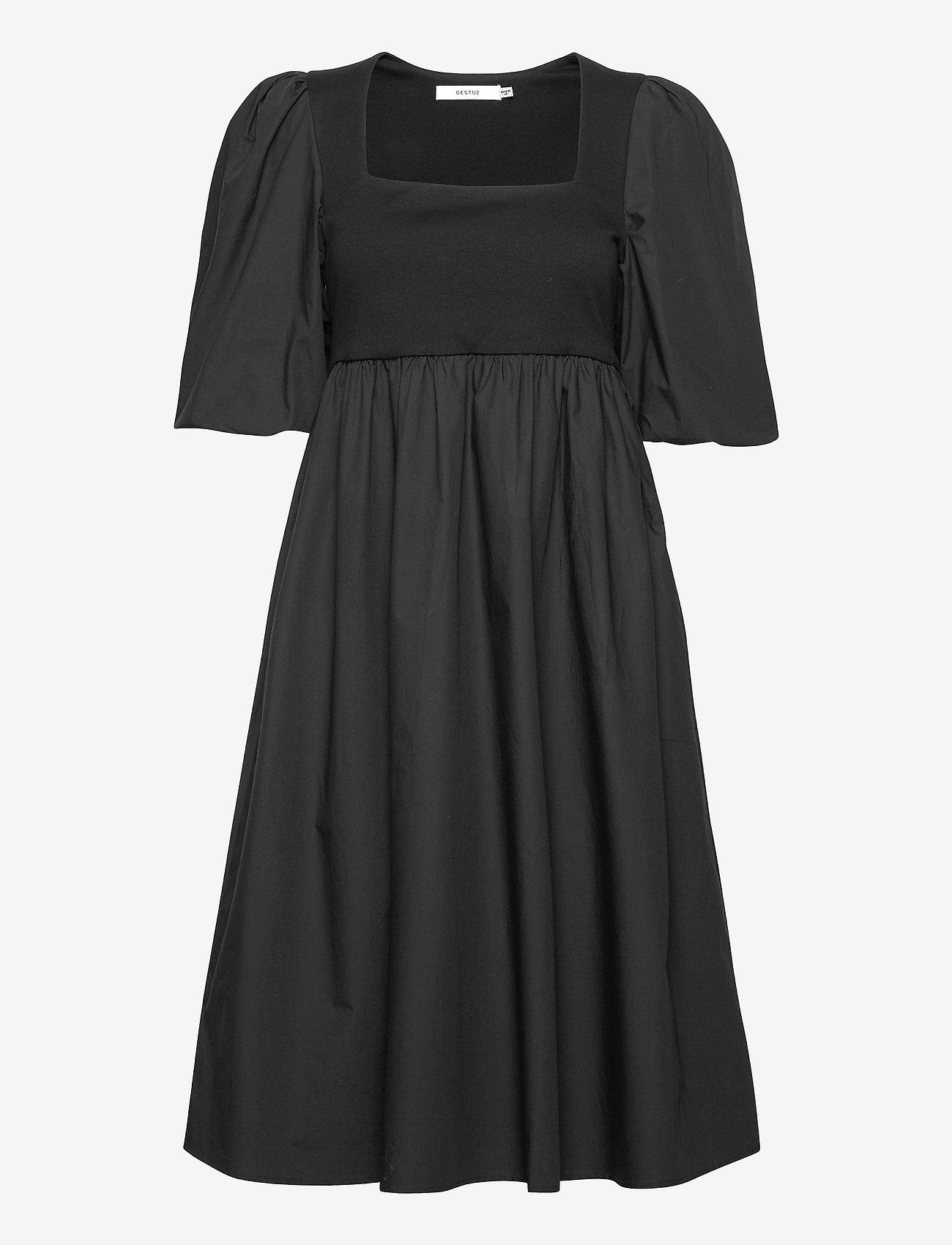 Gestuz - CristinGZ dress - hverdagskjoler - black - 1