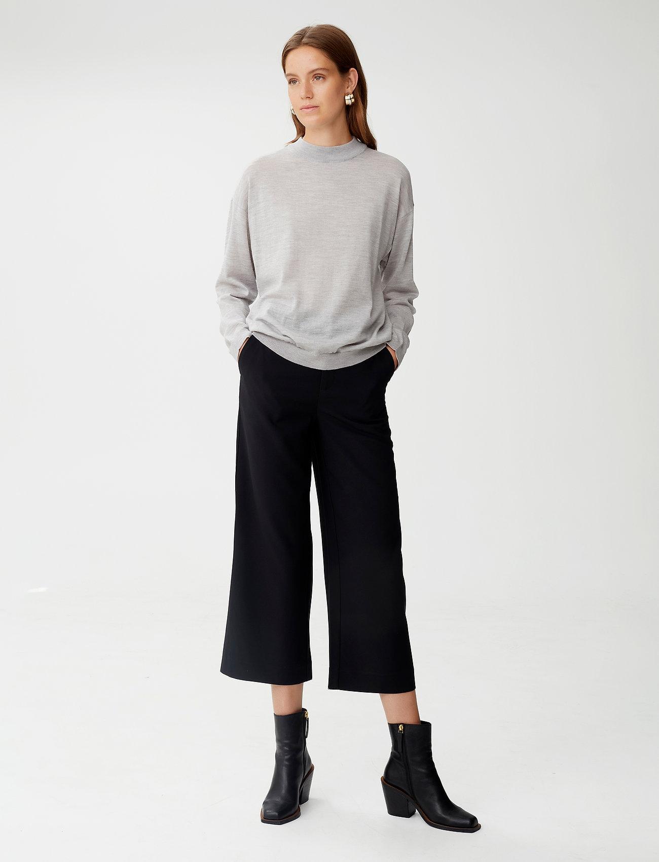 Gestuz - MerinaGZ pullover NOOS - trøjer - l.grey melange - 0