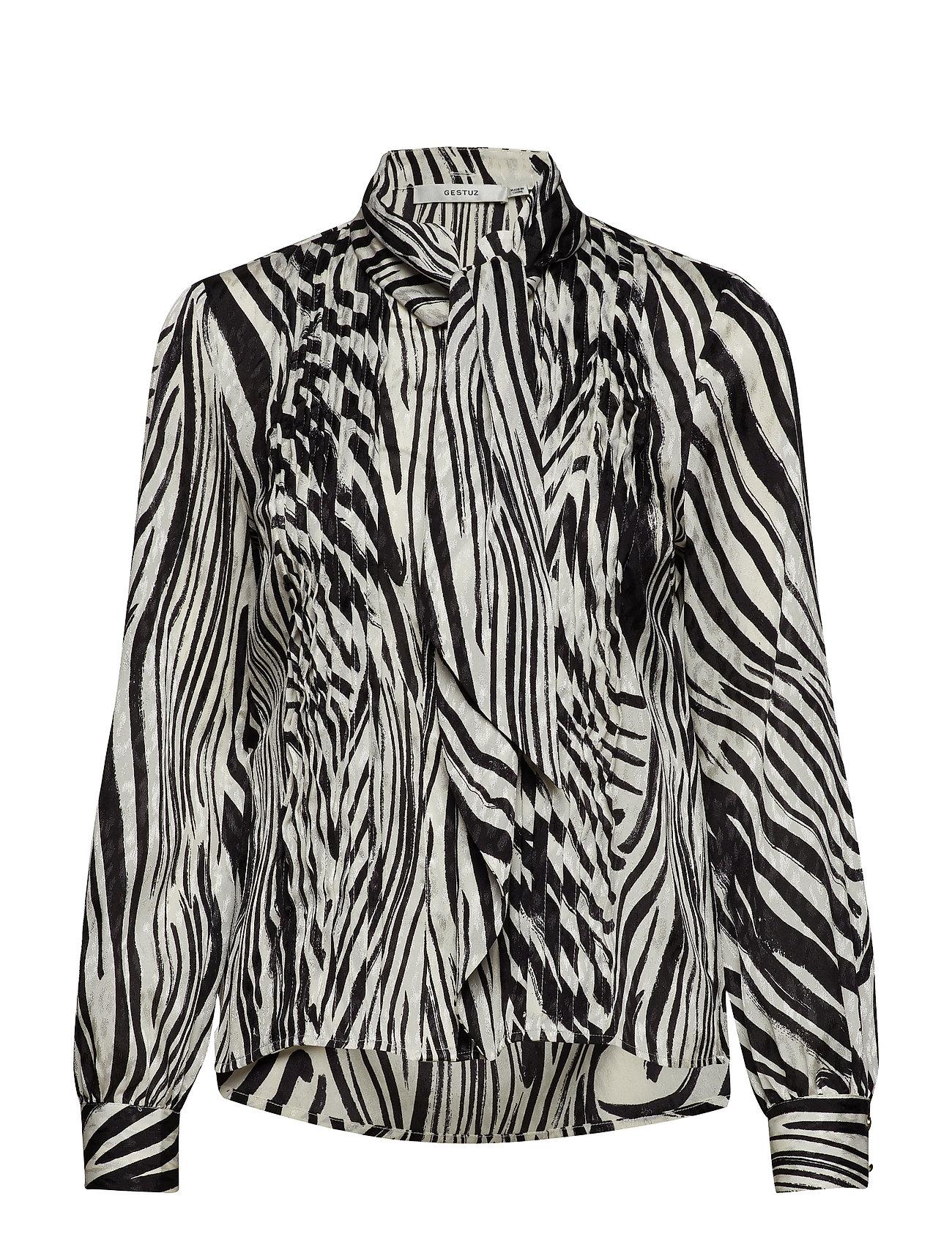 Gestuz Siwra shirt SO19 - ZEBRA AOP