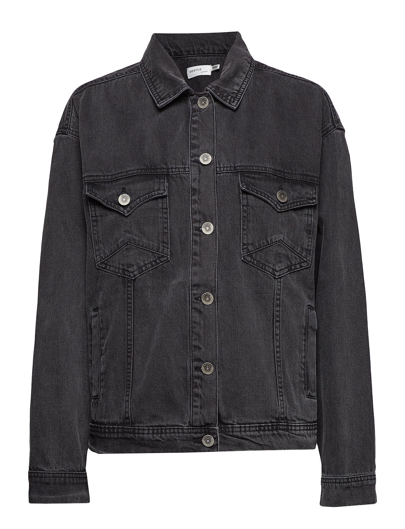 Gestuz Nola jacket MS19 - WASHED BLACK
