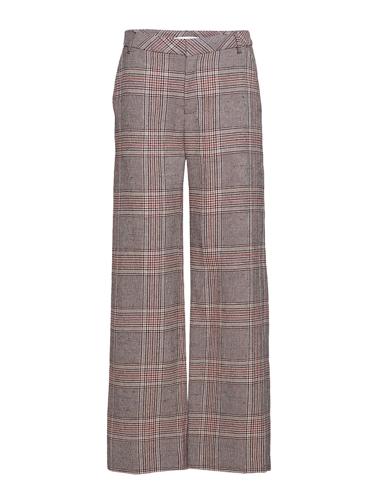 Gestuz Sari pants SO19 - TAN CHECK