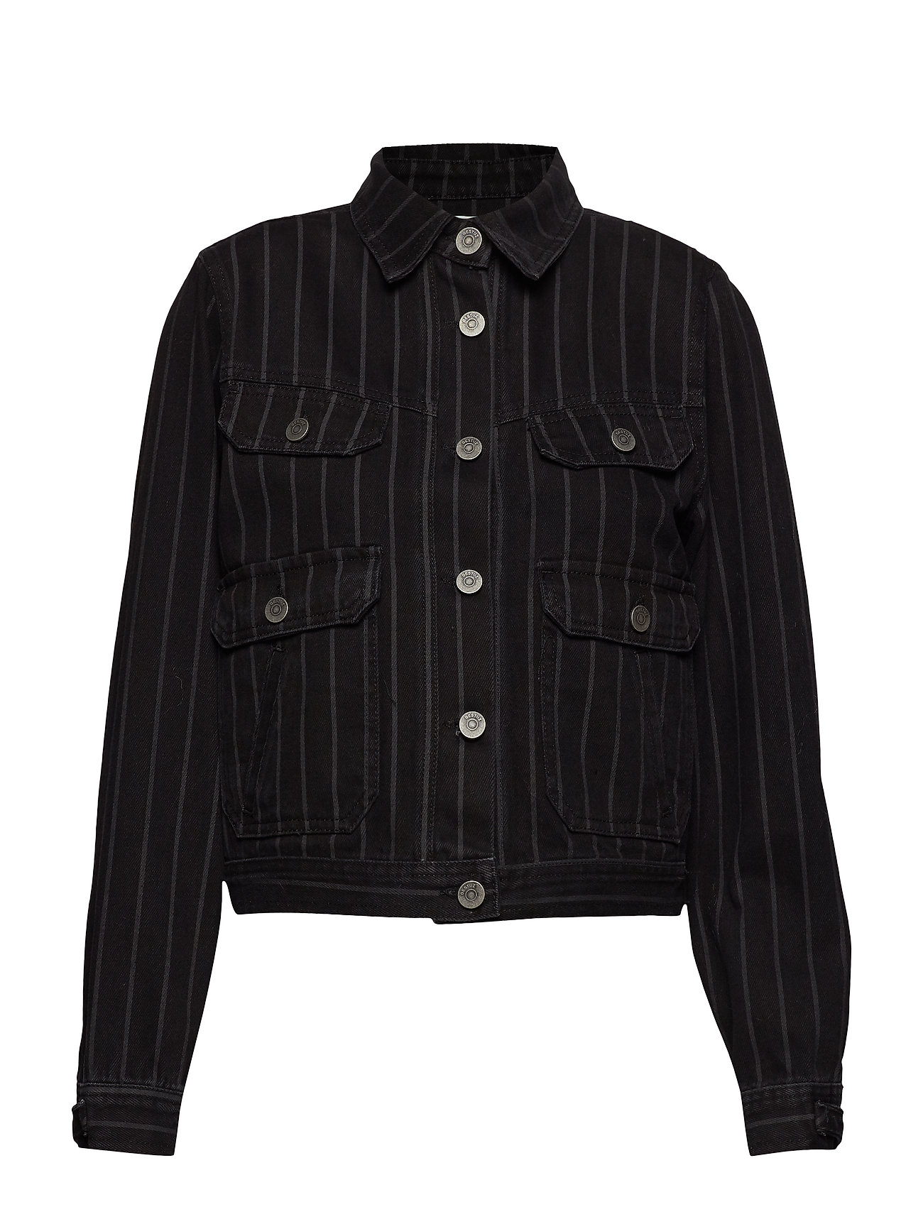 Gestuz Emma jacket SO19 - BLACK PINSTRIPE