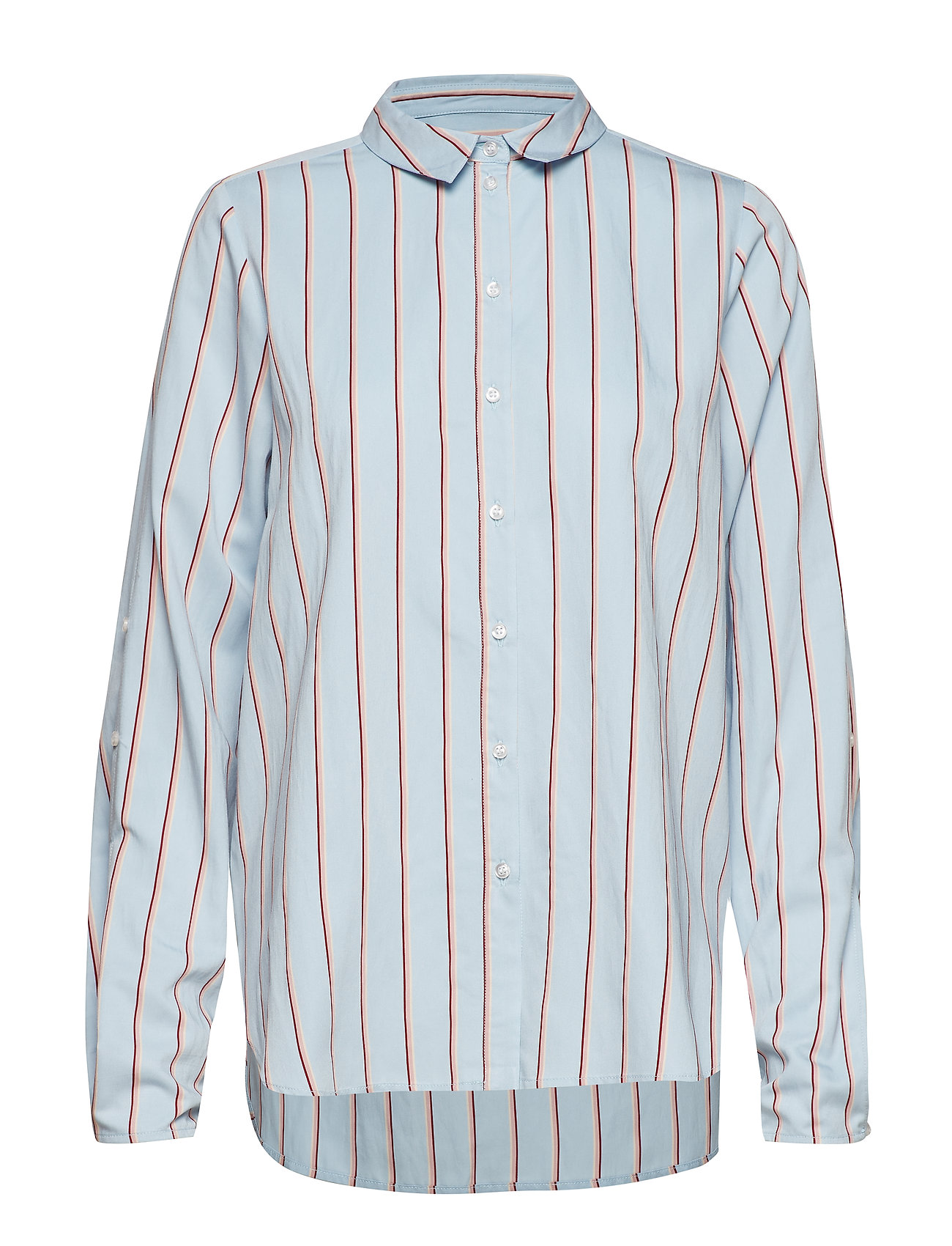 Gestuz Chemise shirt SO19 - LIGHT BLUE WITH STRIPES