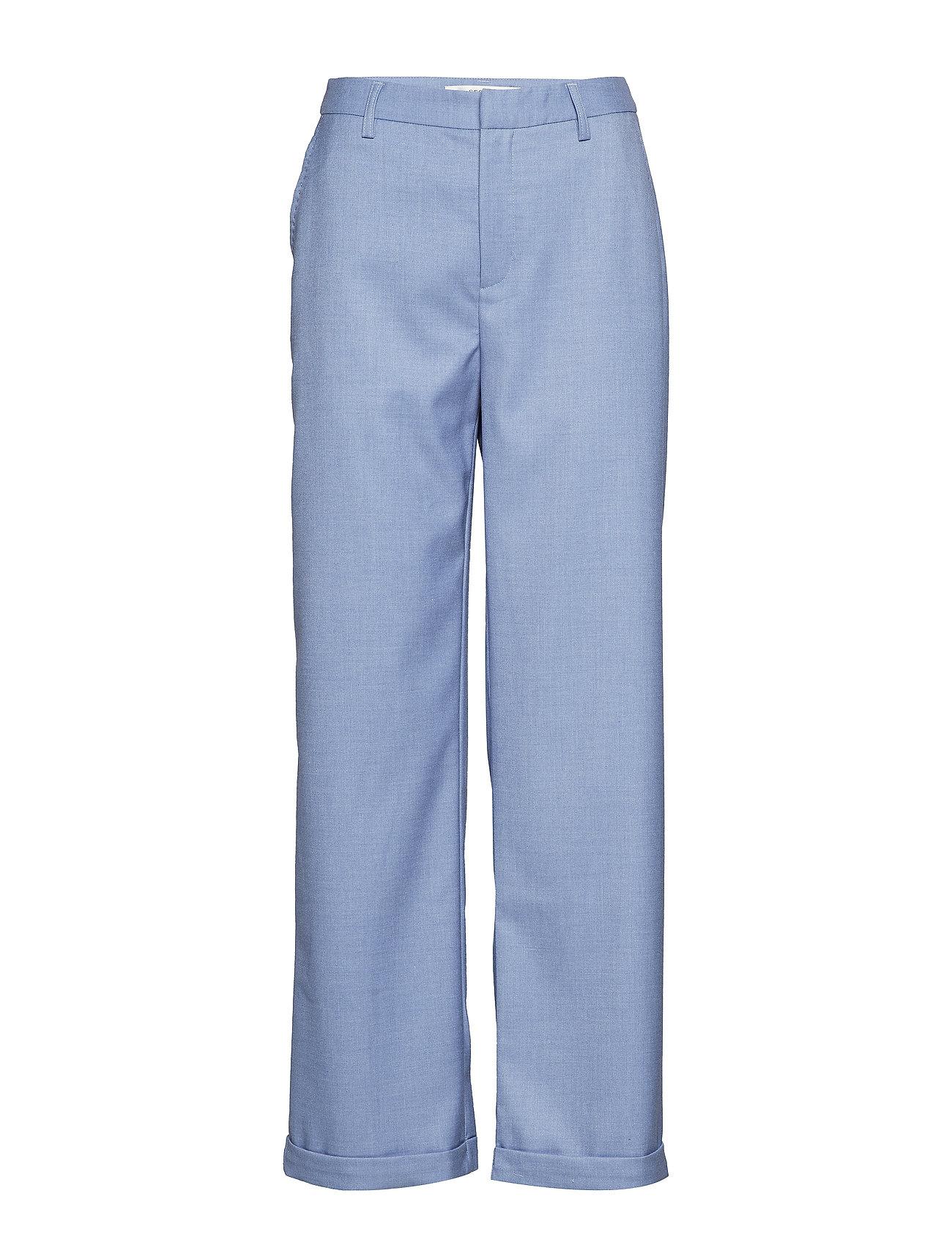 Gestuz Natima pants MS19 - LIGHT BLUE