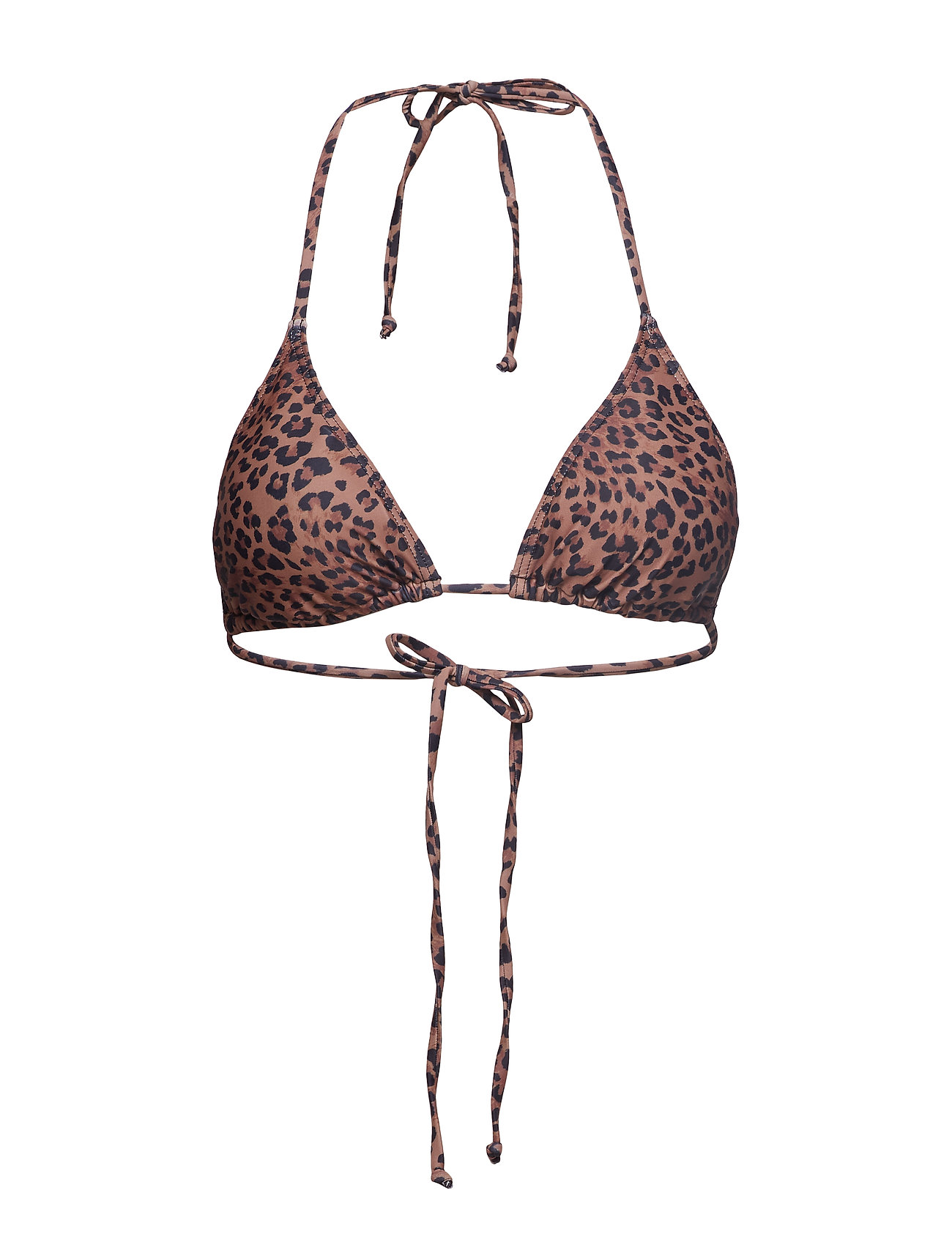 85f492a5e4e Pilgz Bikini Top Hs19 Bikinitop Brun GESTUZ