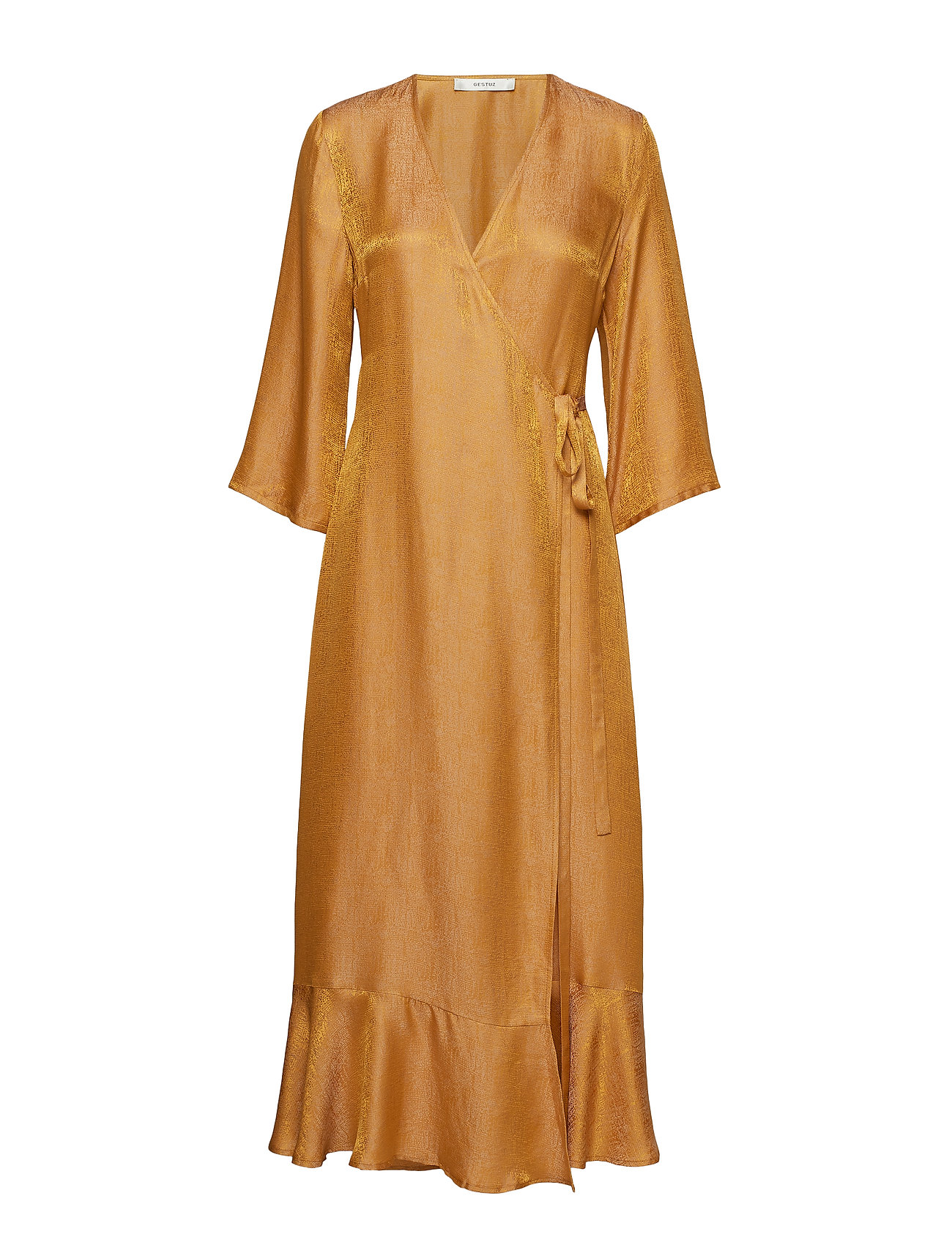 Gestuz CammaGZ wrap dress HS19 - NARCISSUS YELLOW