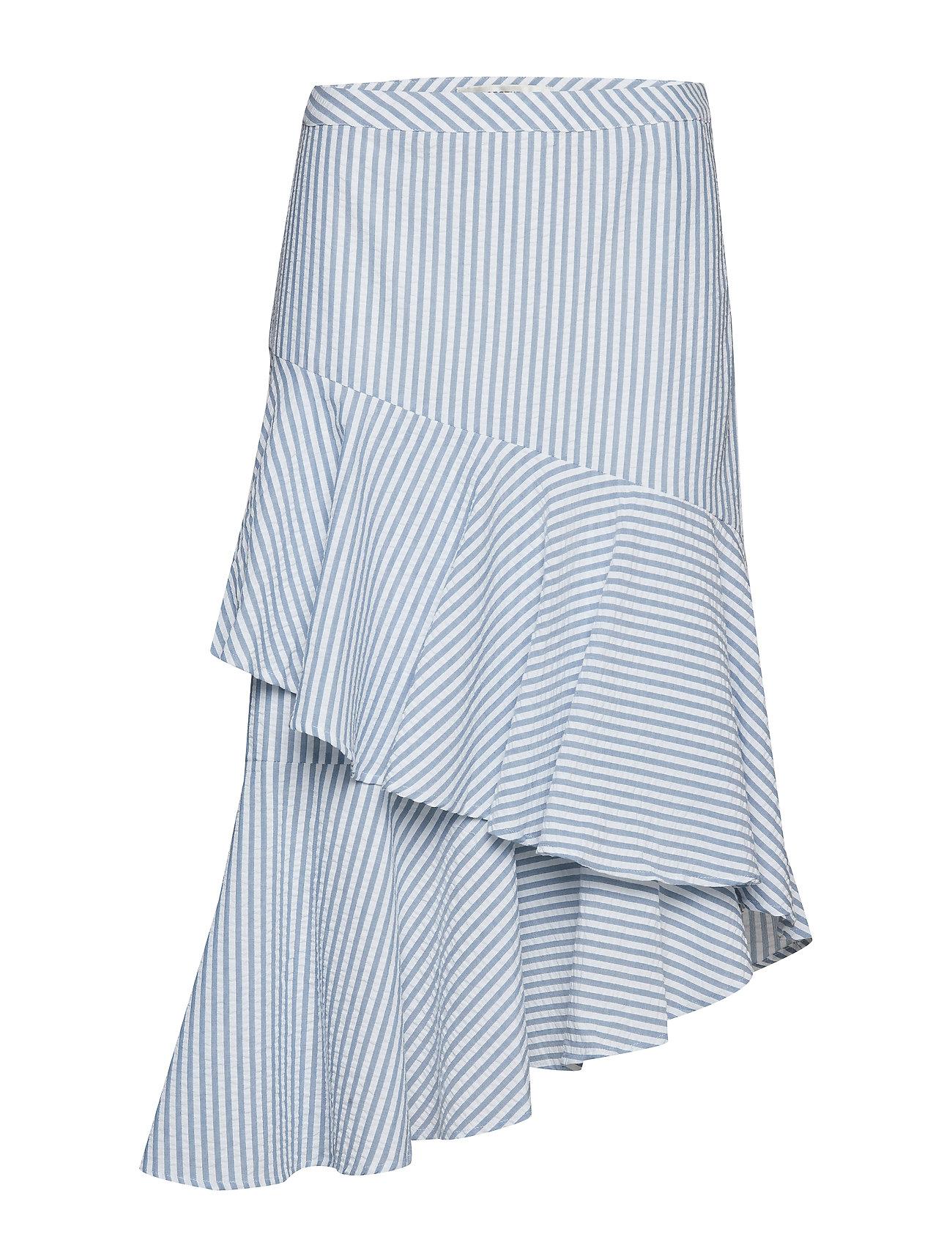 Ao19white Kitiagz Kitiagz WBlue StripesGestuz Skirt WDHIeY29E