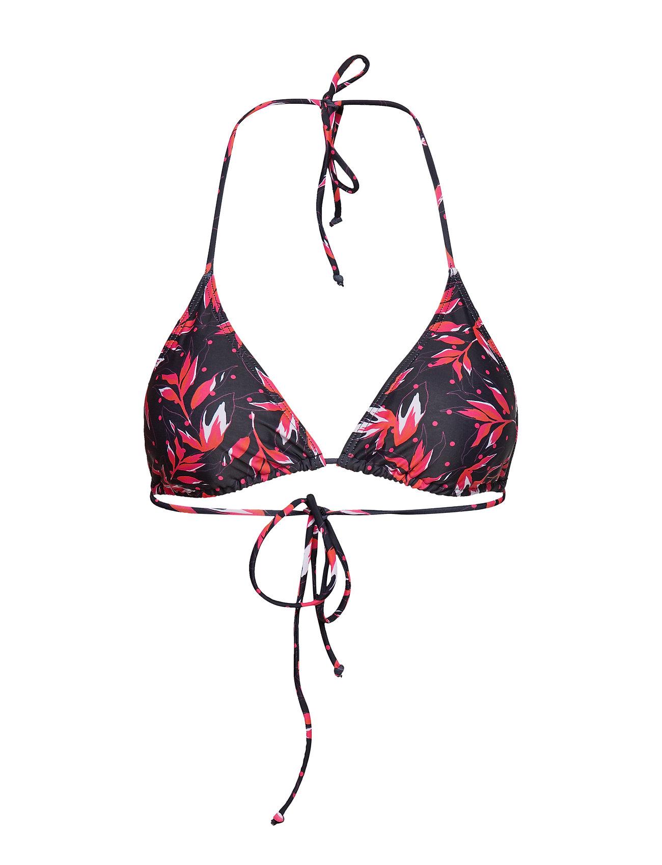 Gestuz PileaGZ bikini top B - BLACK FLOWER