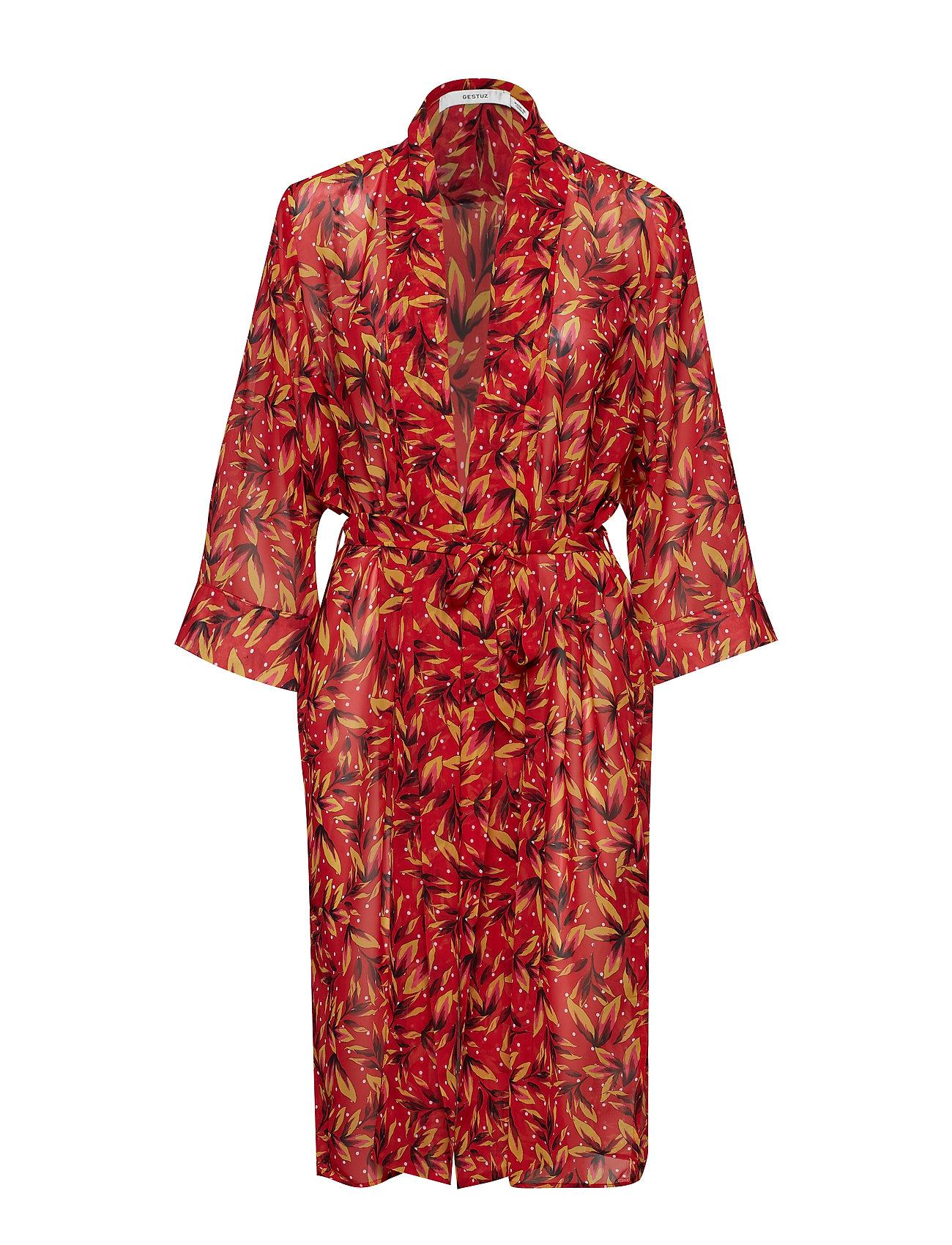 Gestuz LynxGZ kimono B - RED FLOWER