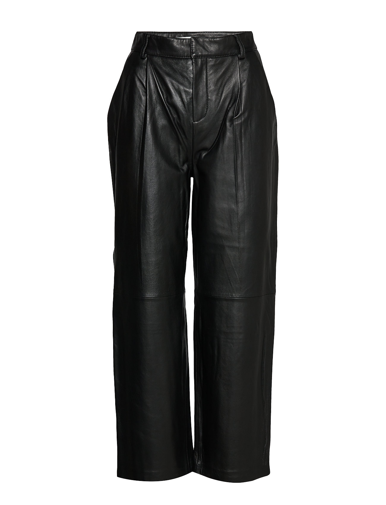 Image of Aliahgz Culotte Leather Leggings/Bukser Sort Gestuz (3321794627)