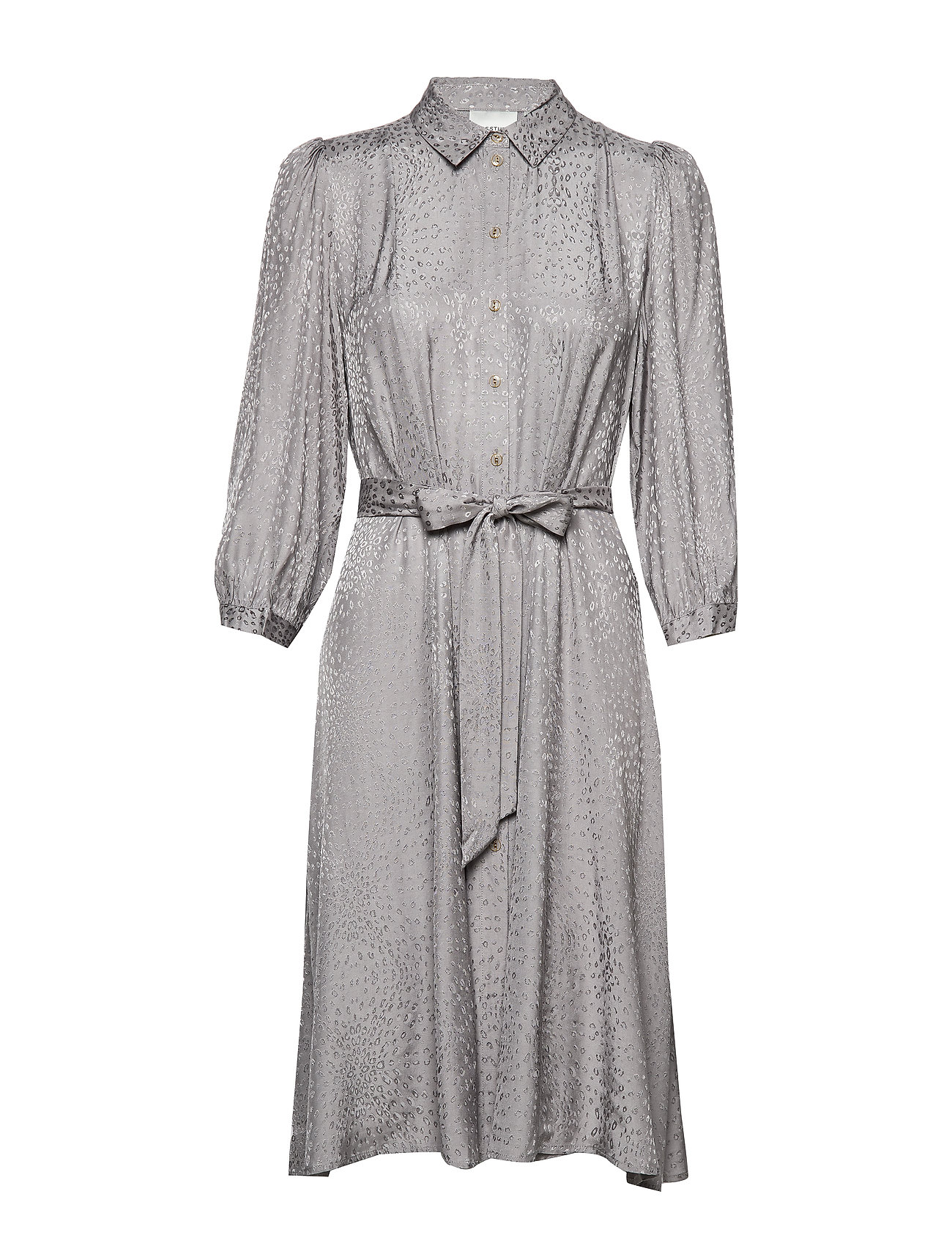 Gestuz BabetGZ dress YE19 - GRAY FLANNEL