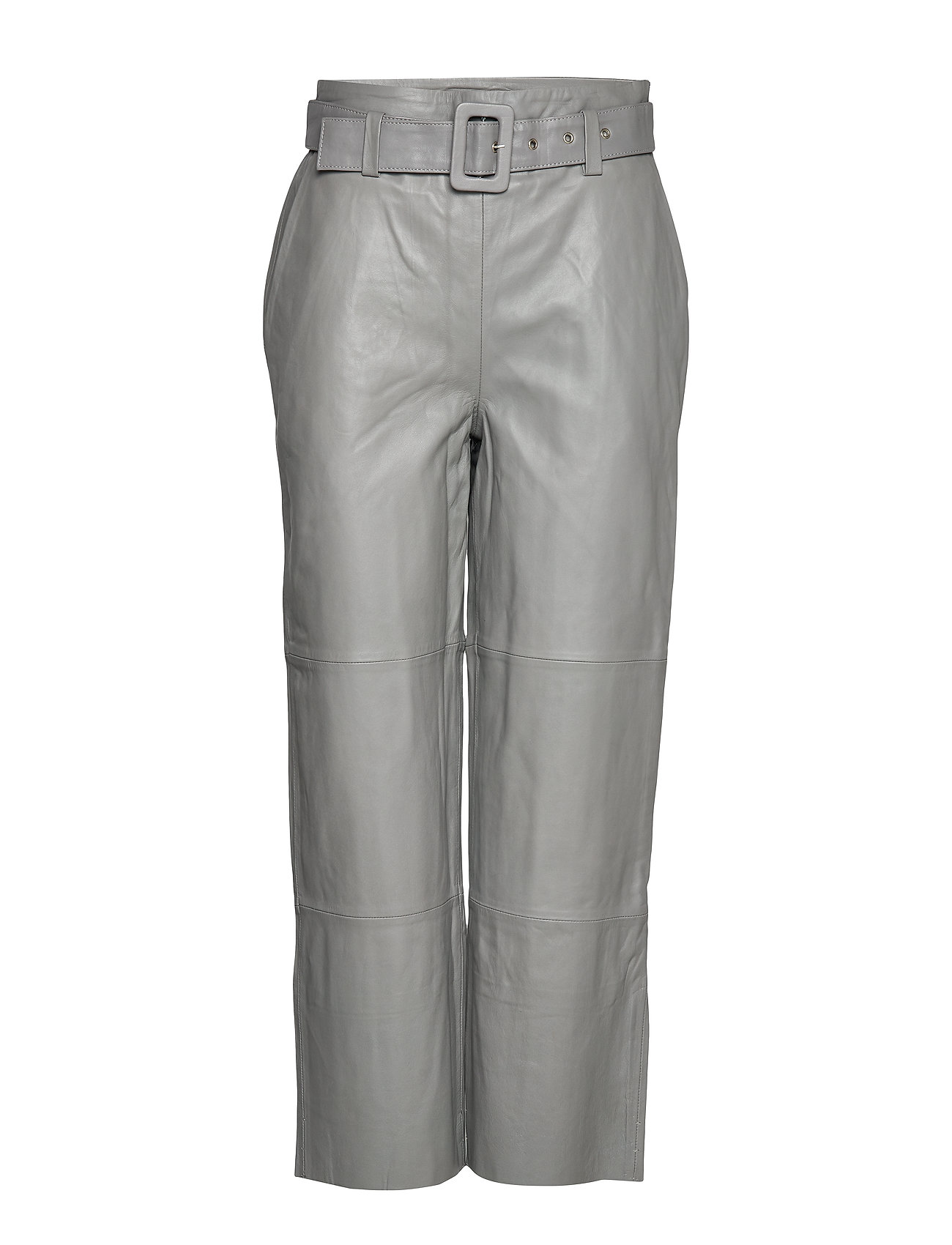 Image of Storiagz Pants Leather Leggings/Bukser Grå Gestuz (3252734723)
