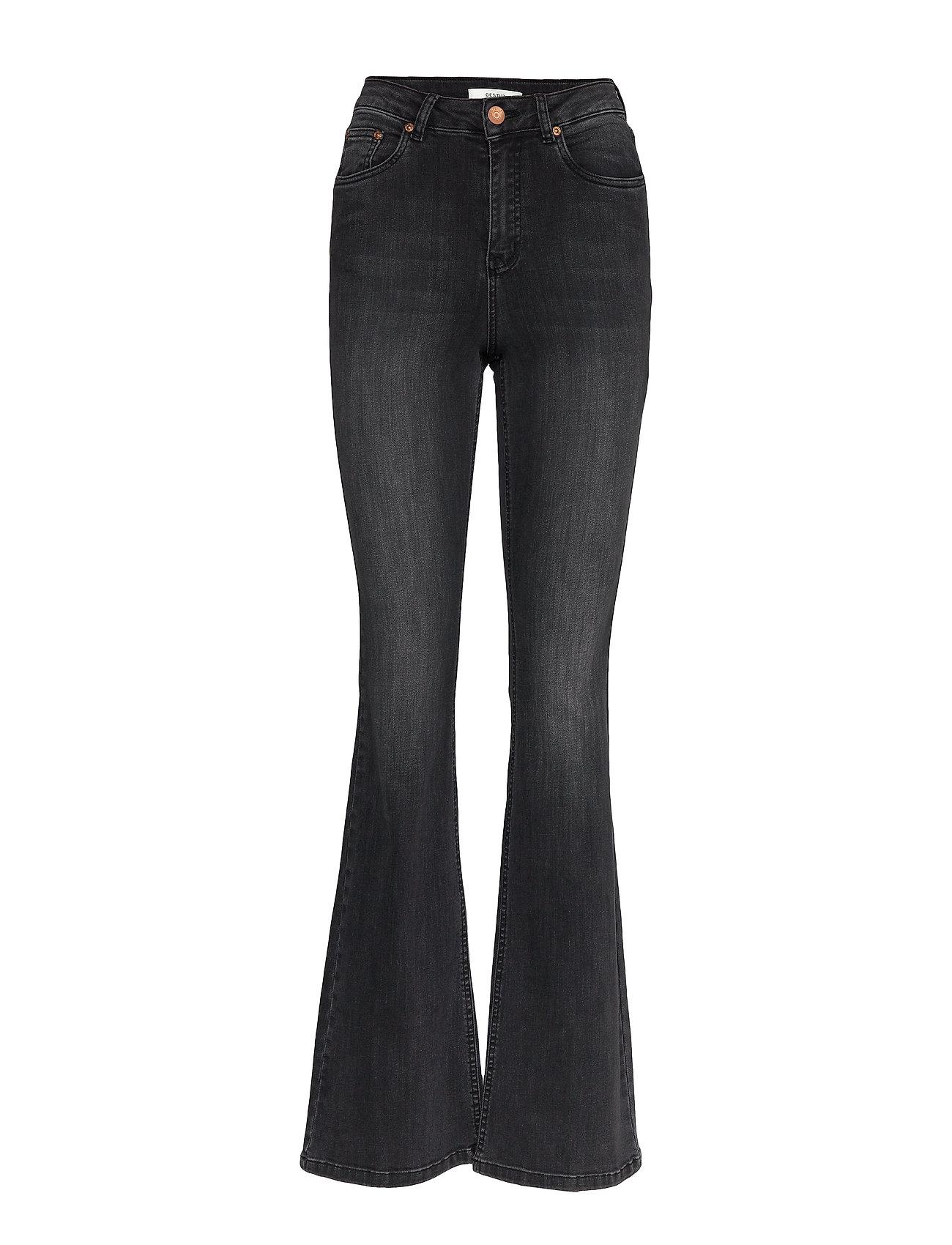 Gestuz EmilindaGZ long jeans - CHARCOAL GREY